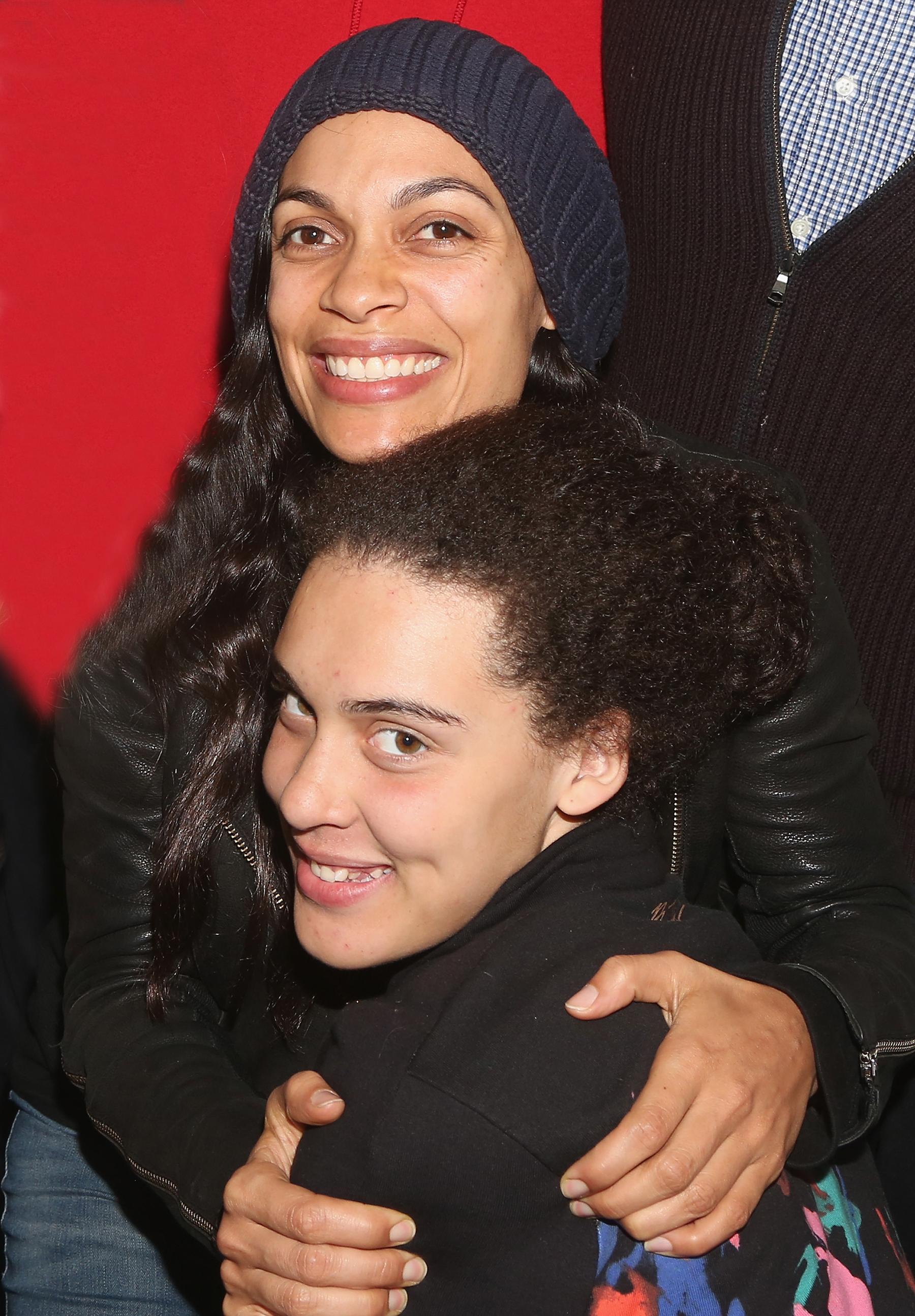 Rosario Dawson of 'Mandalorian' on adopting daughter Lola at 20