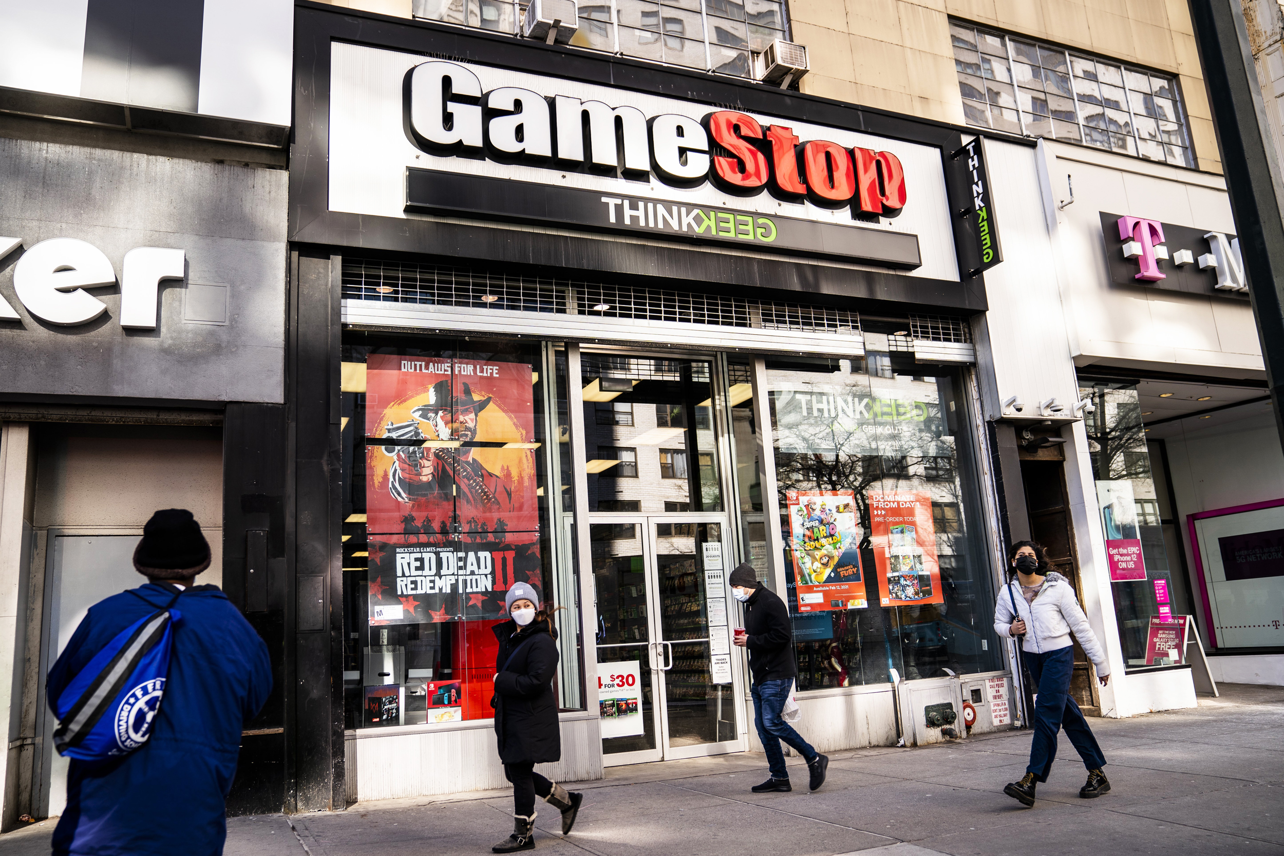 GameStop-shares-surge,-halted-multiple-times-as-Reddit-favorites-rally-again