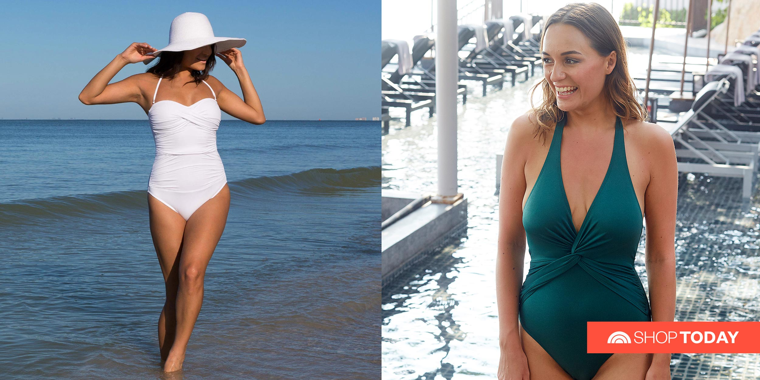 Women One Piece Tummy Control Swimsuits Slimming Swimwear Halter Monokini Ruched Bathing Suits for Plus Size