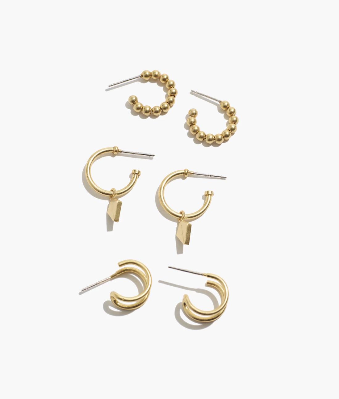 Stone Earrings Beaded Hoops Gift Ideas Gift For Her Hoop Earrings Handmade Jewelry Stone Jewelry Earthy Earrings Boho Jewelry