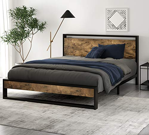 10 Best Affordable Bed Frames Of 2021, Average Cost Of A Queen Size Bed Frame