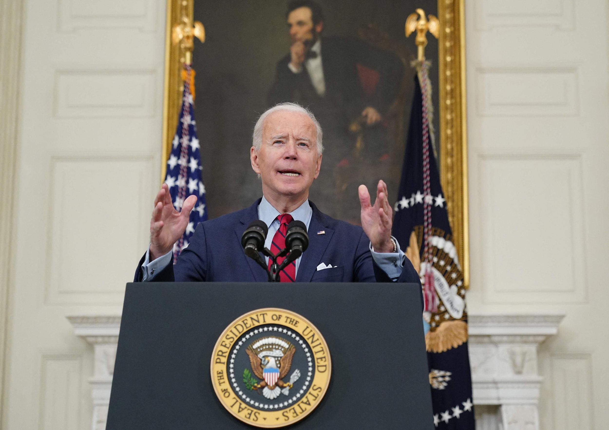 Biden Calls On Congress To Tighten Gun Laws In Wake Of Colorado Shooting That Killed 10