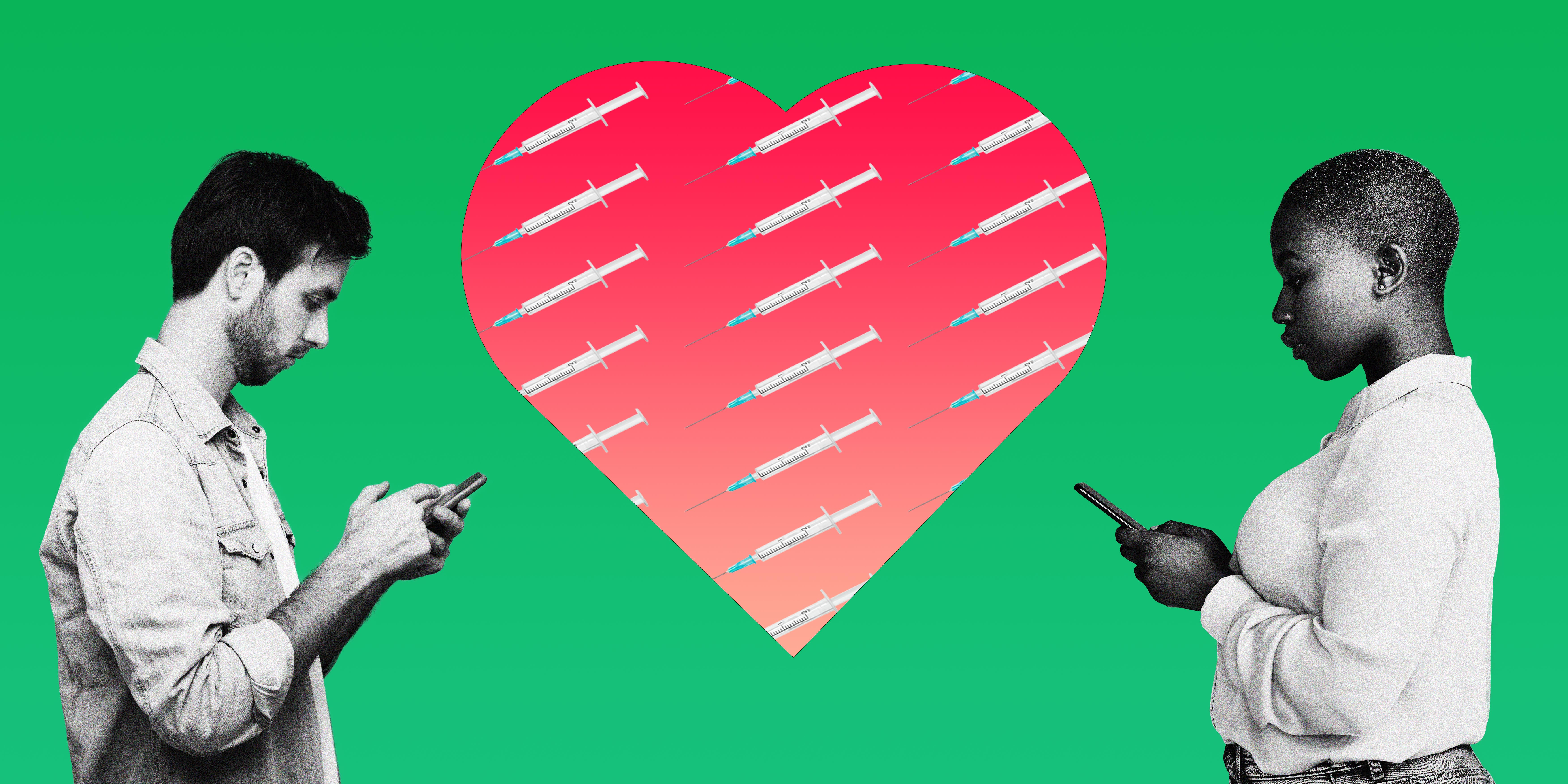 A Shot At Love Your Vaccination Status Is The Latest Covid Era Compatibility Test