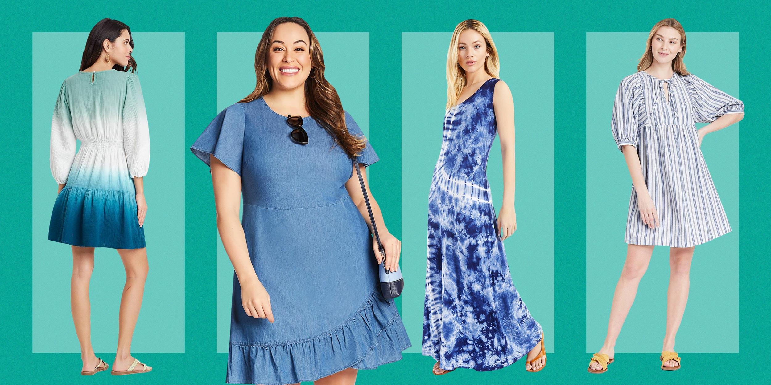 Women/'s Sleeveless Tie Dye Short Dress T-Shirt Summer Casual Tank Beach Sundress