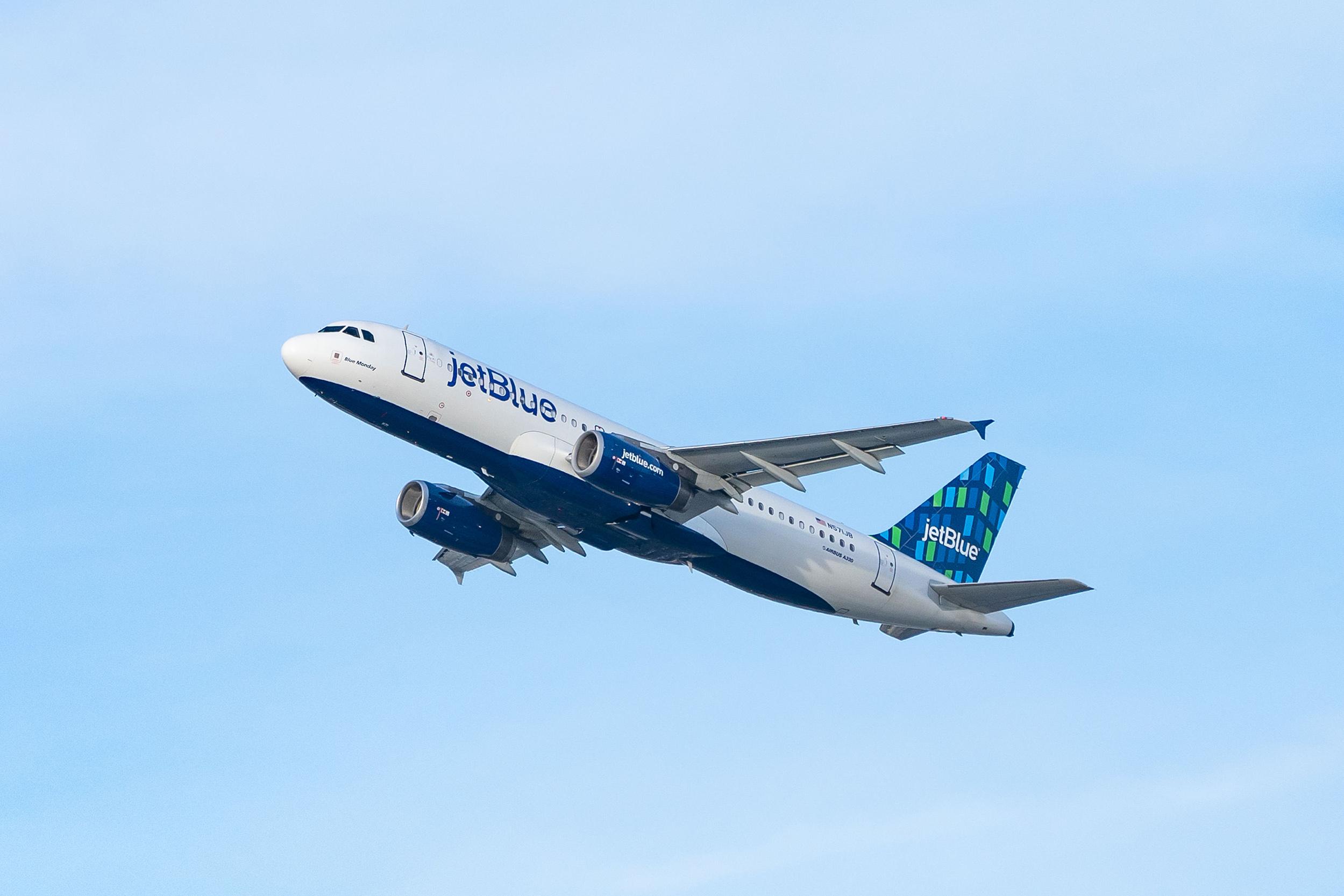 JetBlue passenger attacked flight attendant and tried to rush flight deck, FBI says