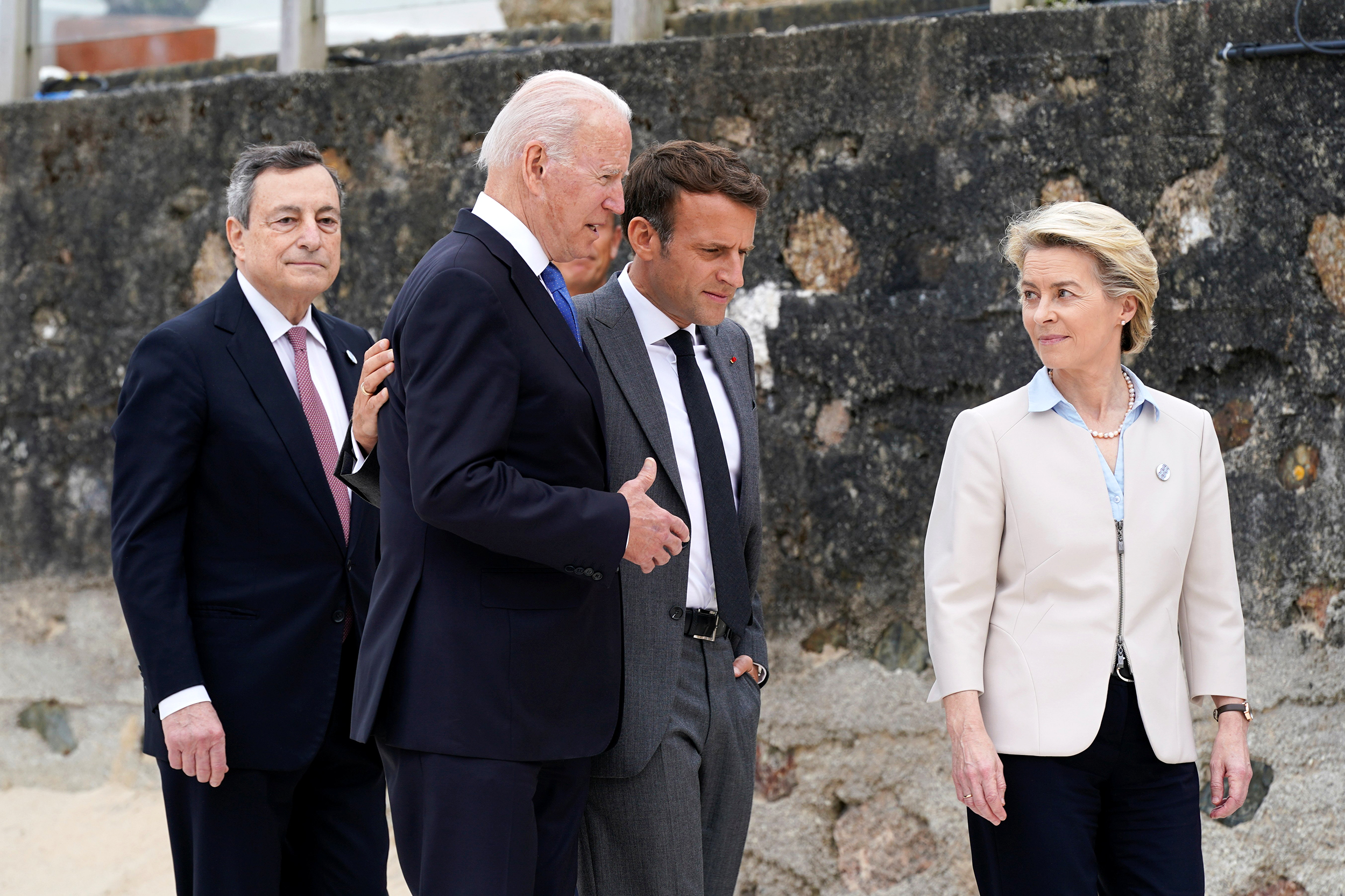 Biden, G-7 leaders to focus on China in second day of summit