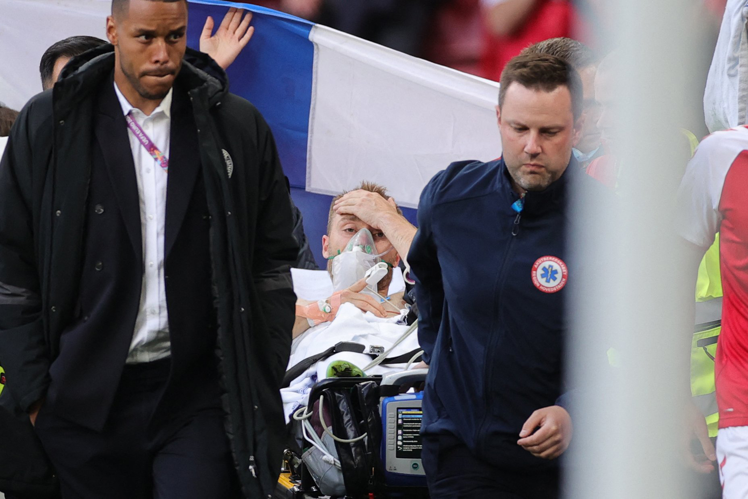 Danish soccer star Christian Eriksen collapses mid-game, is resuscitated on field