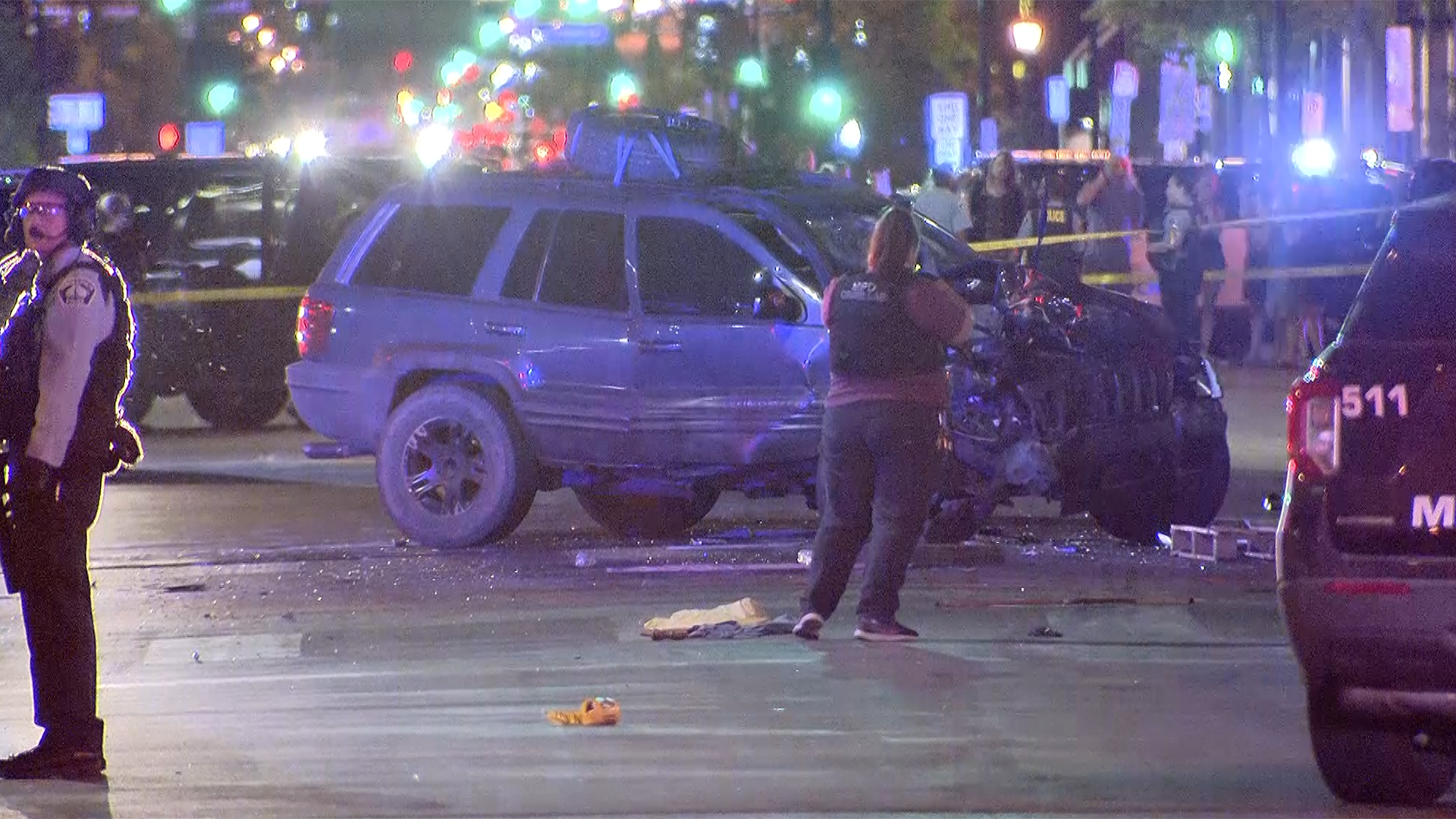 Woman Killed After Car Drives Into Protesters in Minneapolis