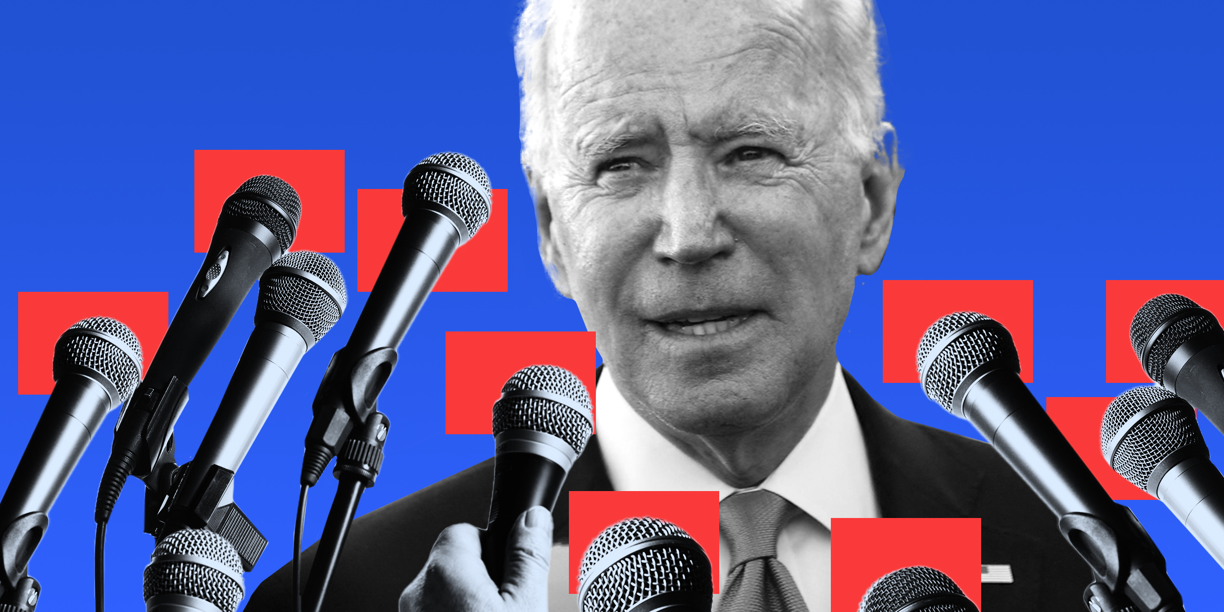 Biden, Trump, and Putin: Three very different reactions to being seen