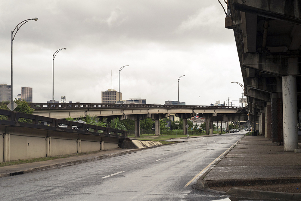 The Claiborne Corridor in New Orleans on June 6, 2021