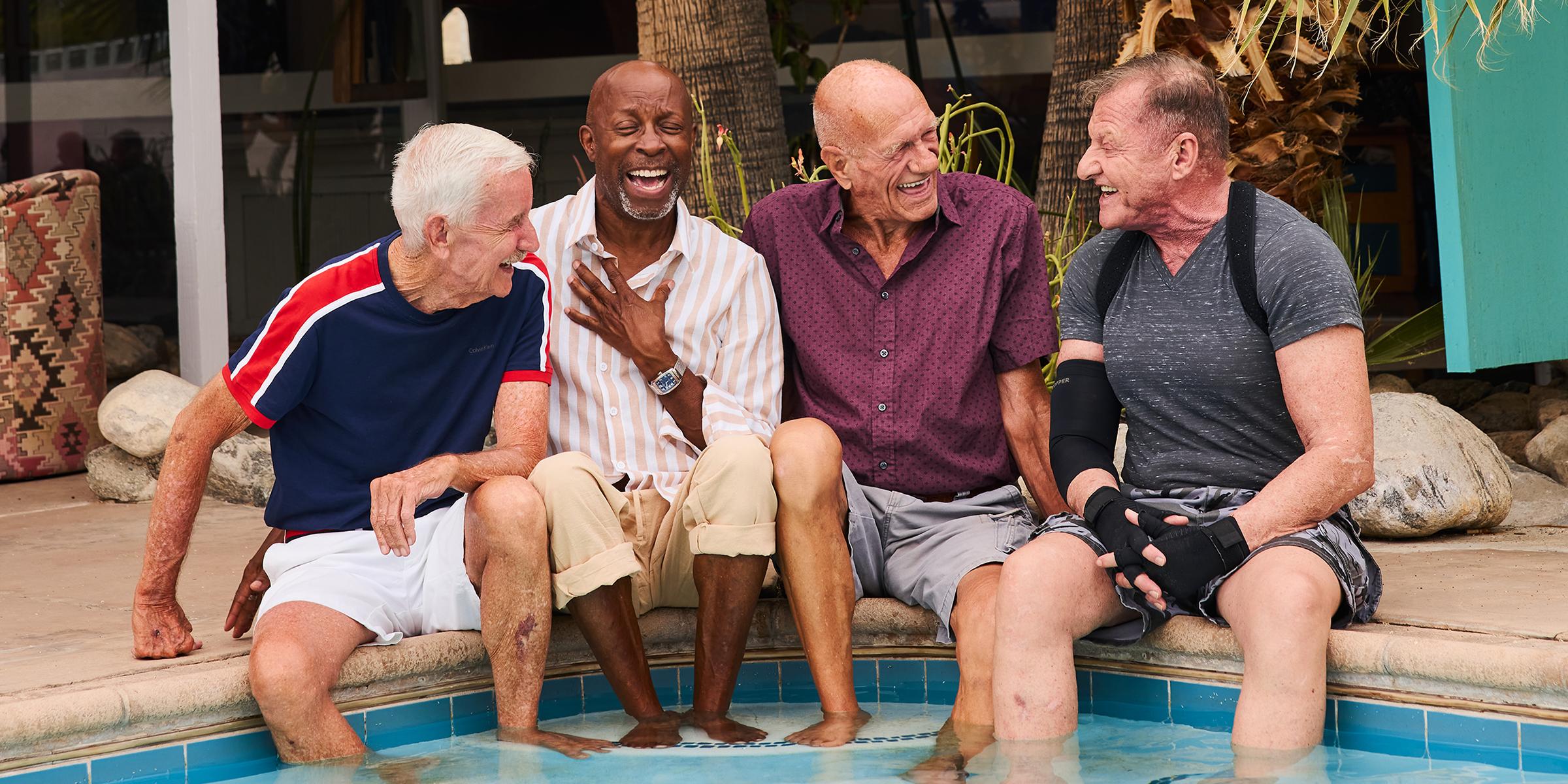 Grandpa gay old Old Men