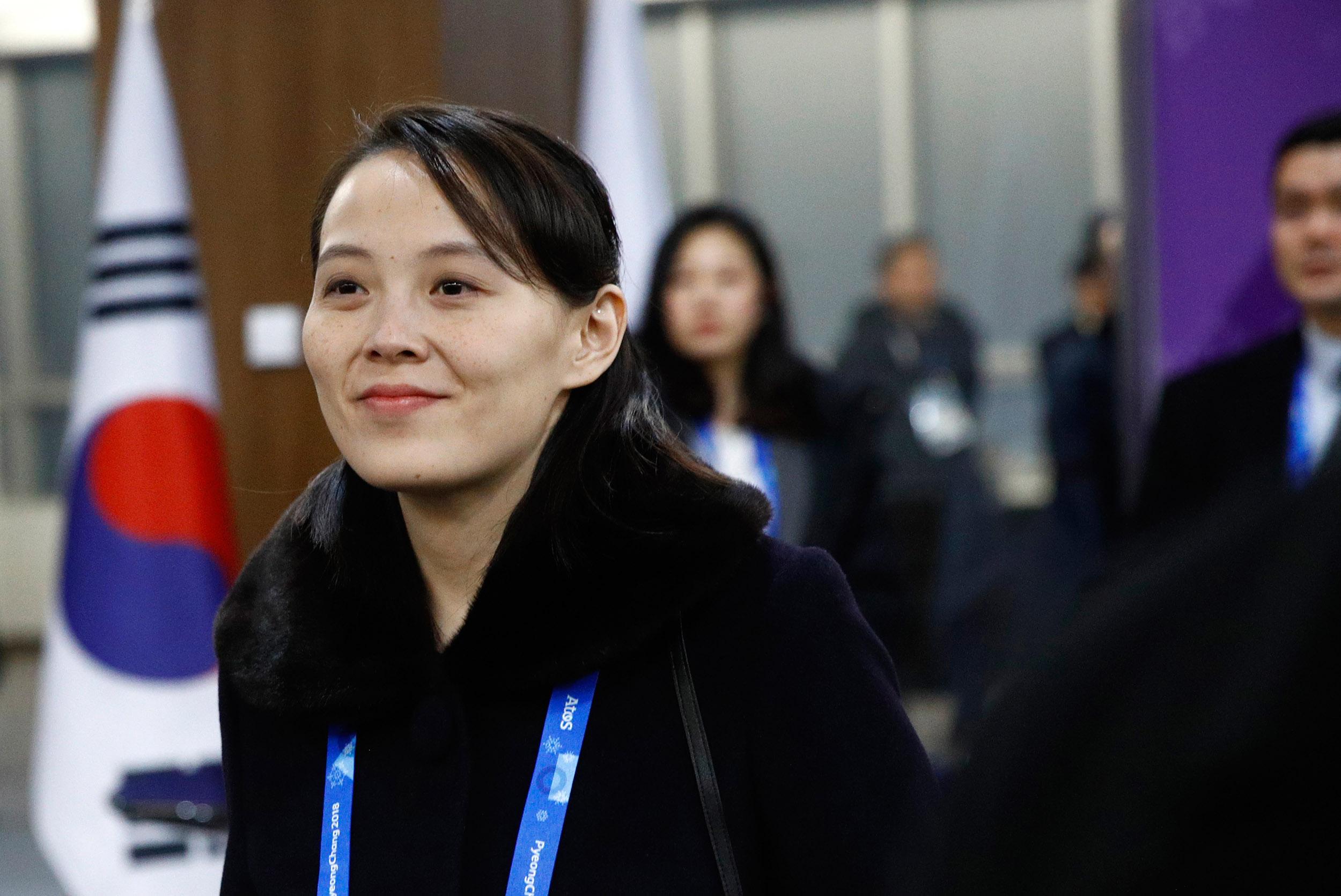 Kim Jong Un's sister derides U.S. official, dismisses chances for talks