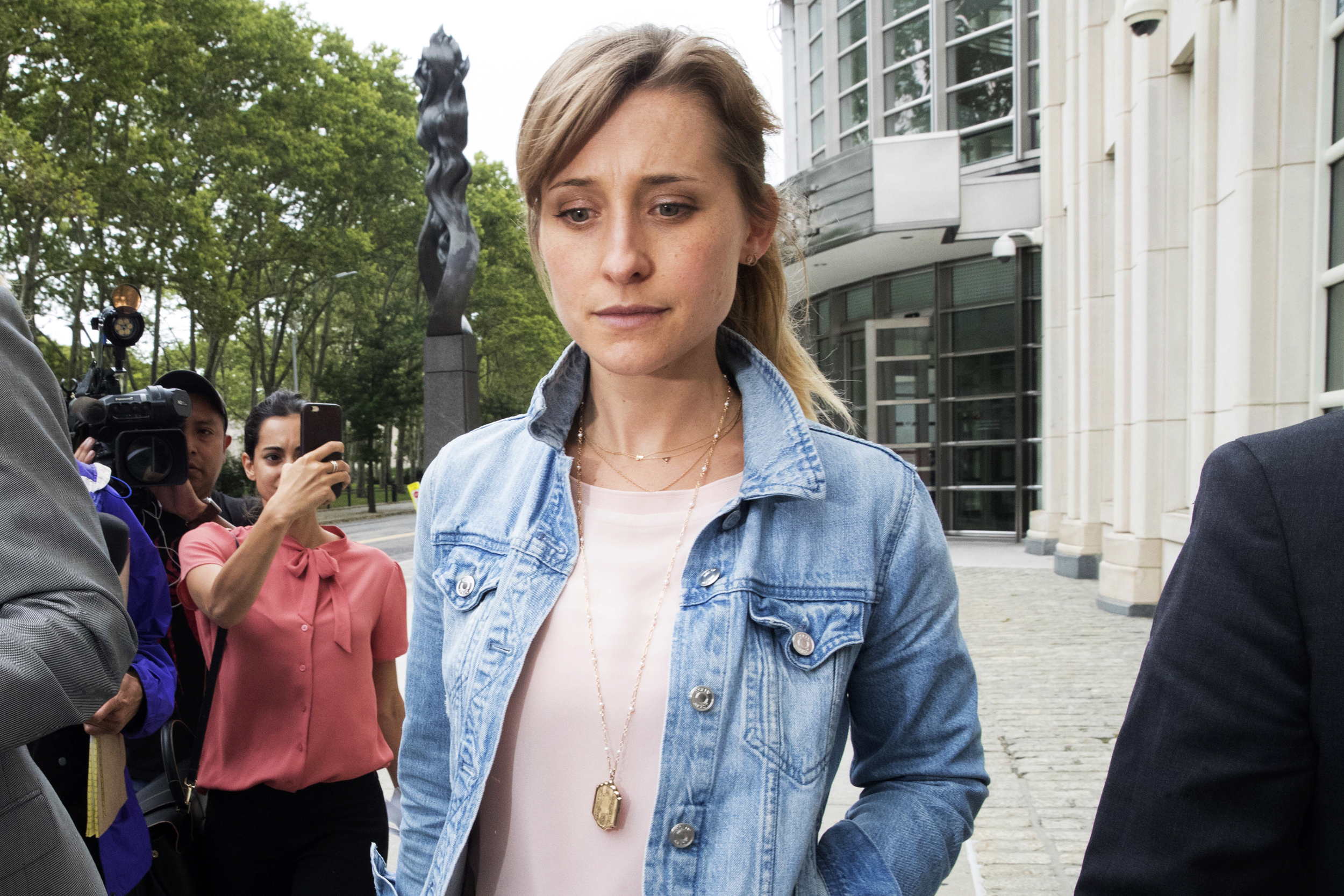 Overwhelming shame': Allison Mack apologizes as sentencing looms in NXIVM  sex cult case