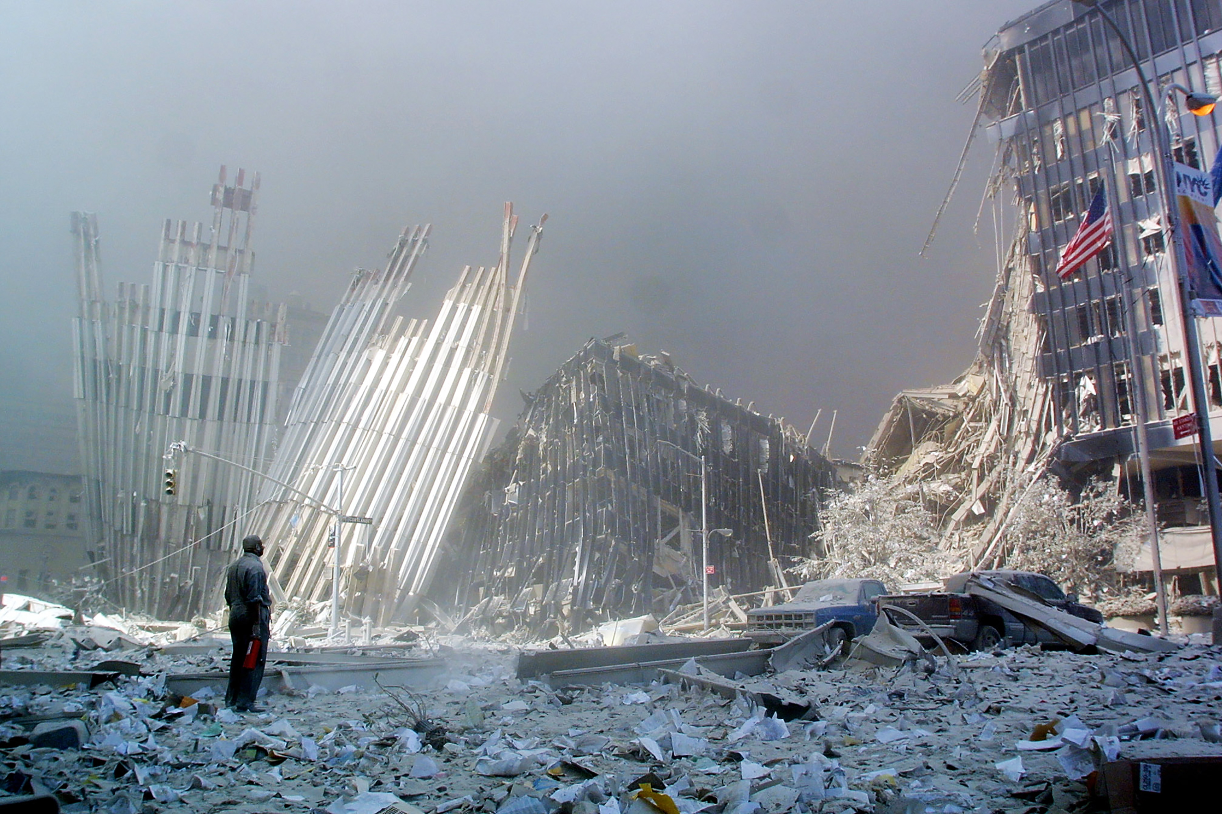 It's been two decades since 9/11. America is not the same — and never will be.
