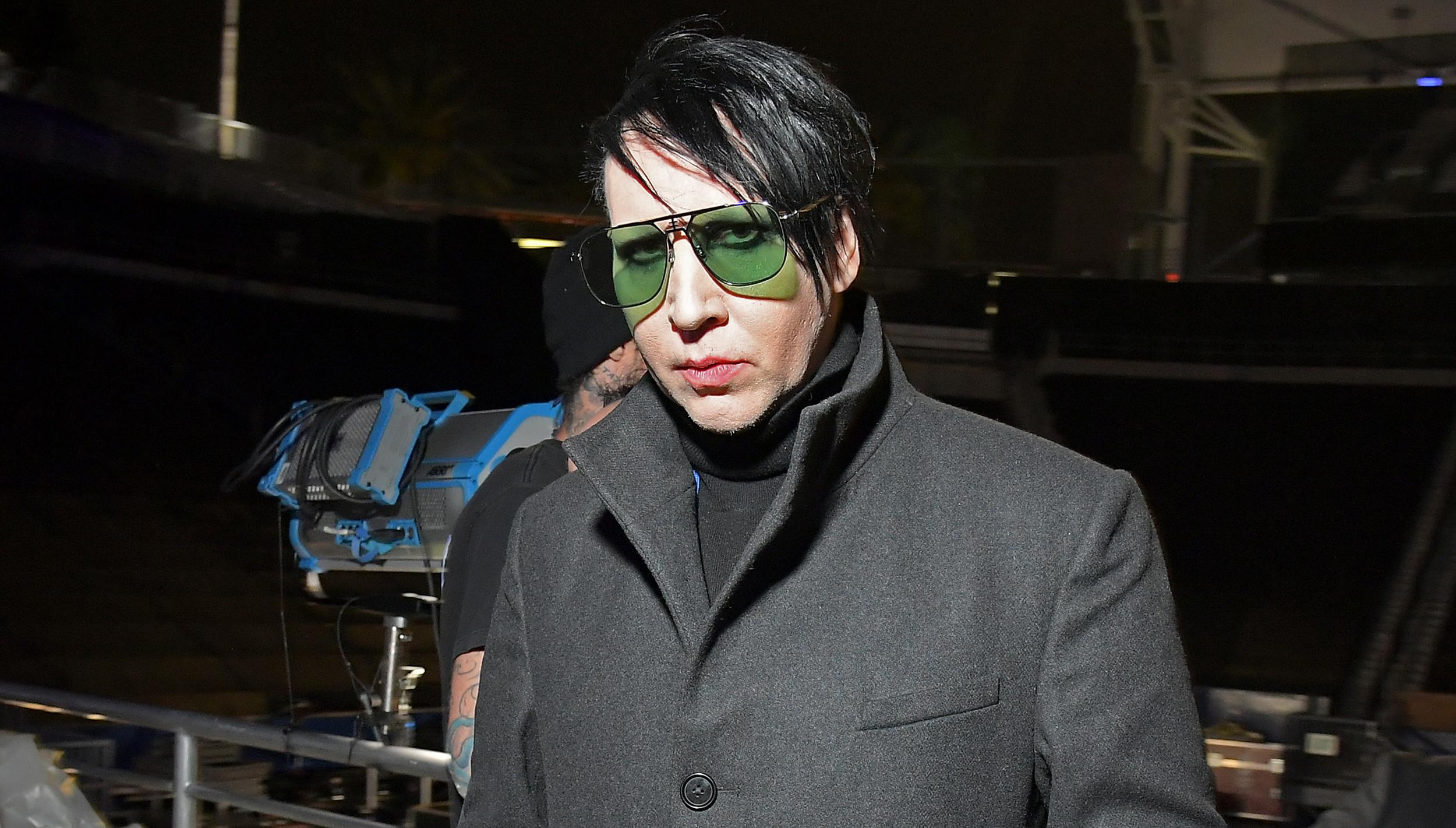 Judge dismisses ex-girlfriend's lawsuit against Marilyn Manson