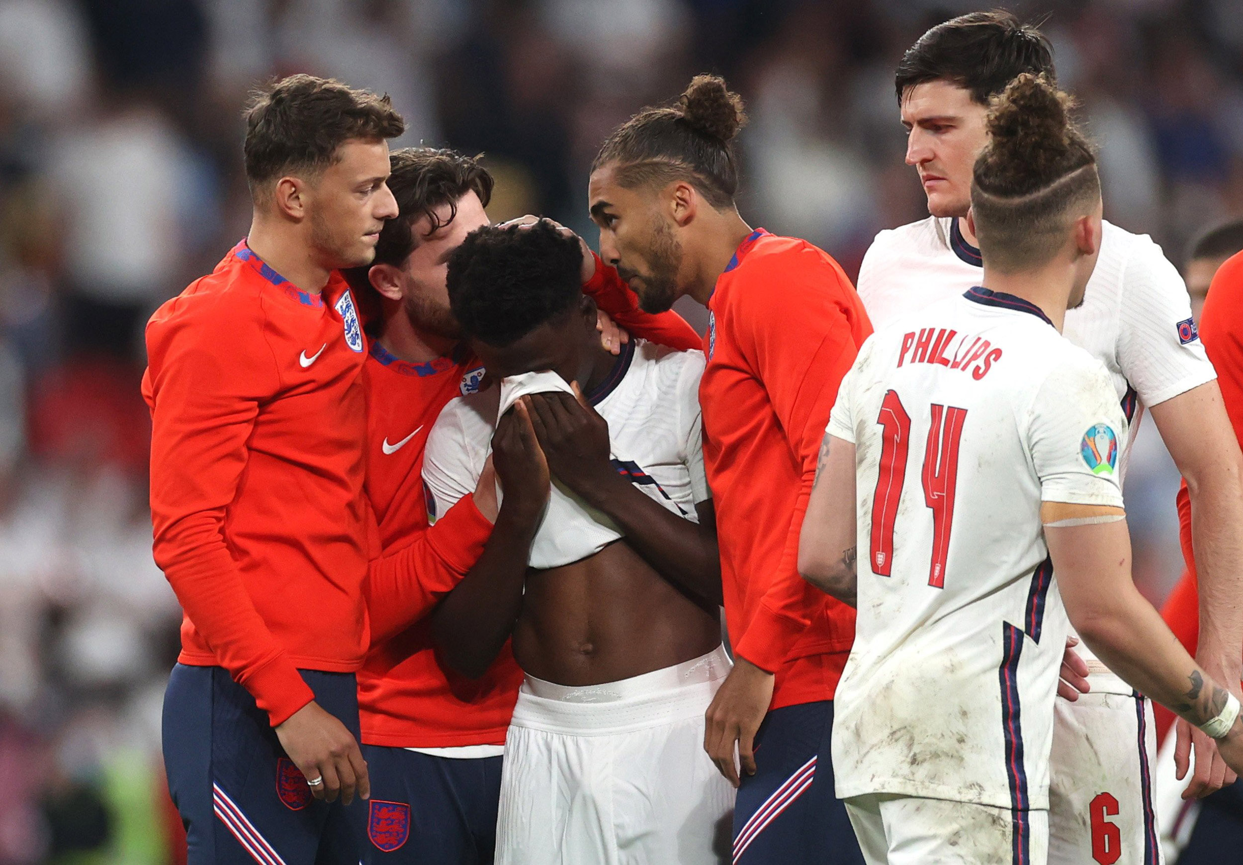 Three Black Players for England Racially Abused Online After Missing Penalty Kicks in Euro 2020 Soccer Final