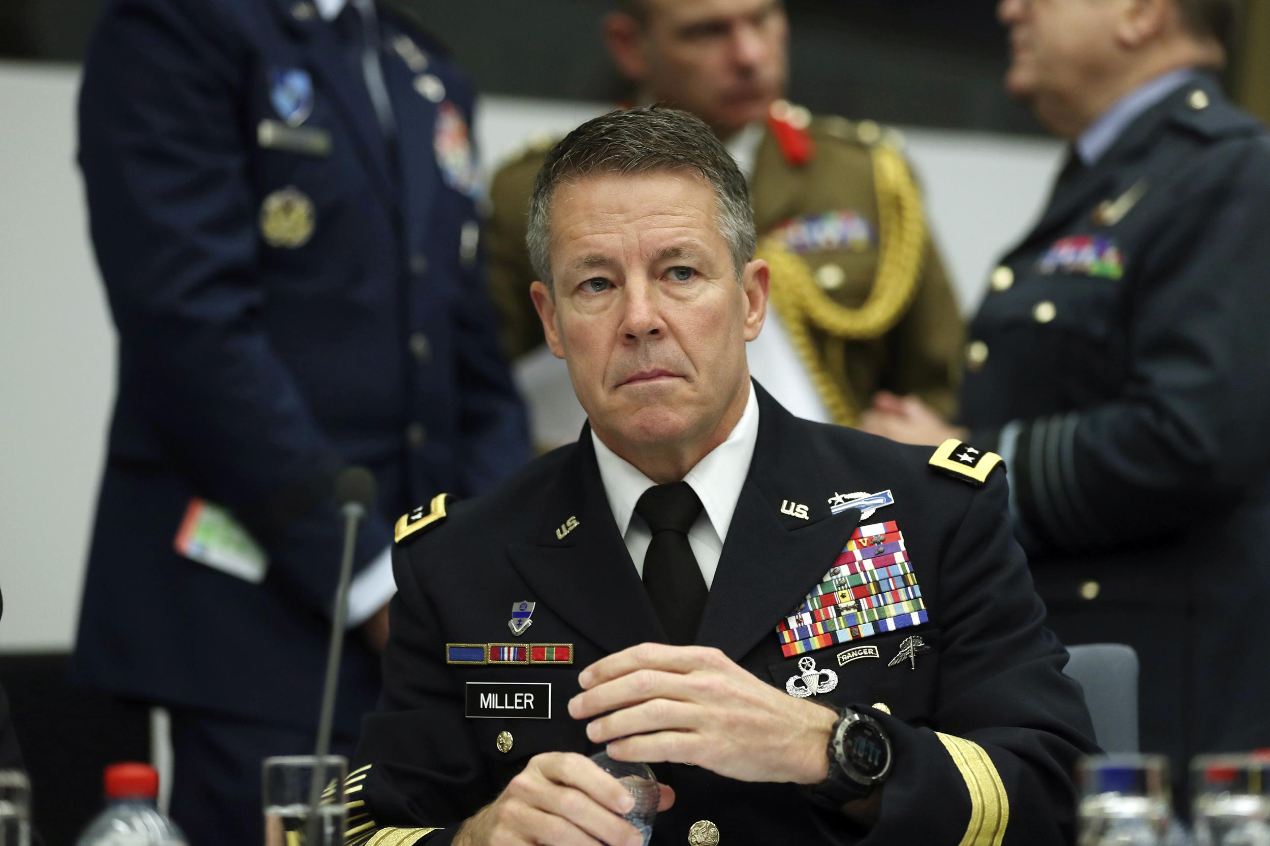 Commander of U.S. and NATO Troops in Afghanistan Steps Down