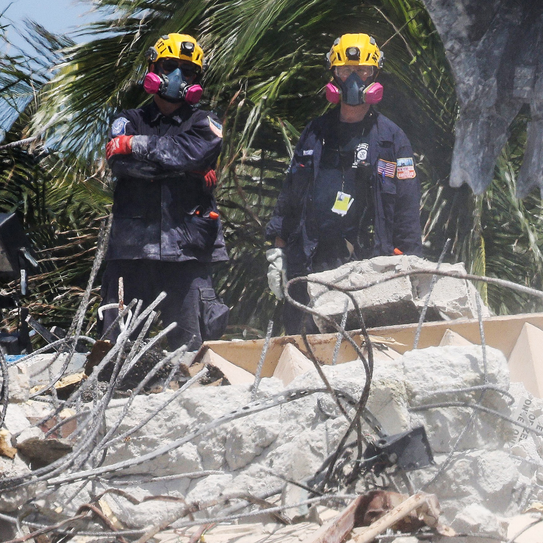 Search for bodies concludes at Surfside condo collapse site