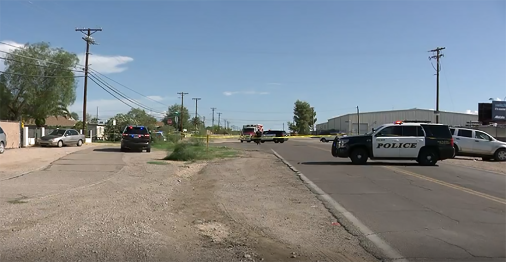 Tucson suspect shoots at EMTs, police and firefighters in spree that leaves one dead, four injured