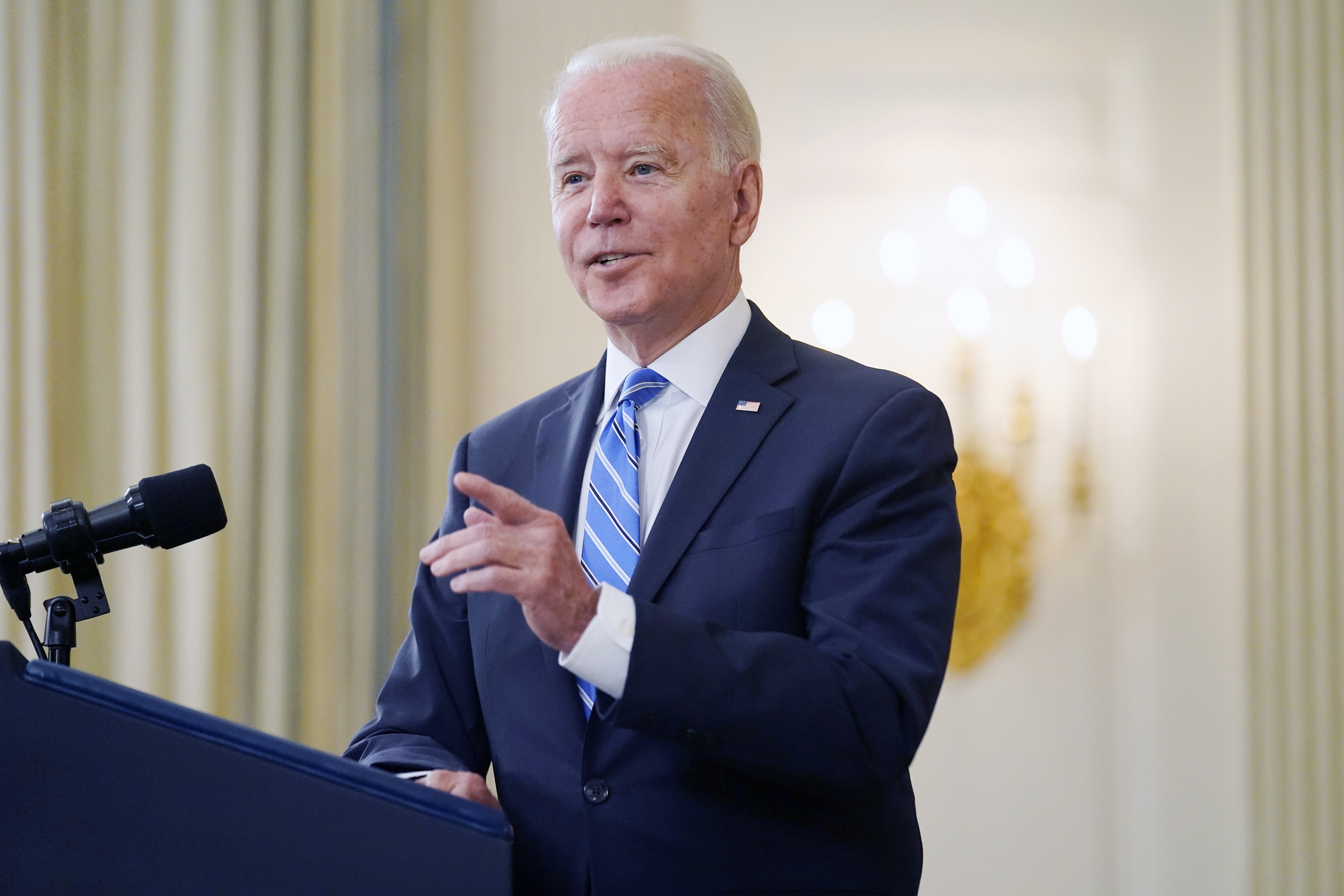 Biden softens criticism of Facebook after accusing company of 'killing people'