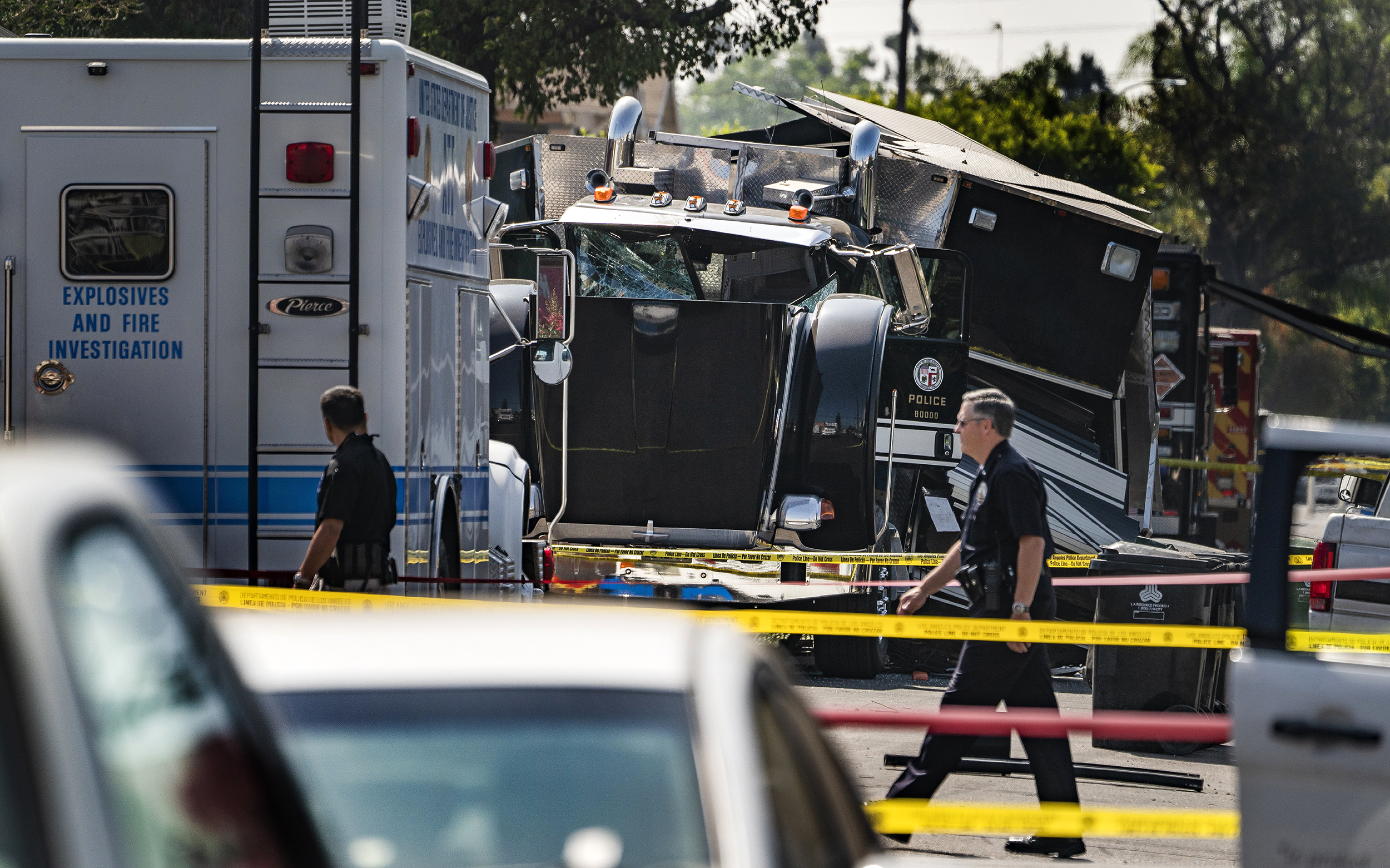 L.A. officers who caused giant blast with fireworks likely made 'significant miscalculation'