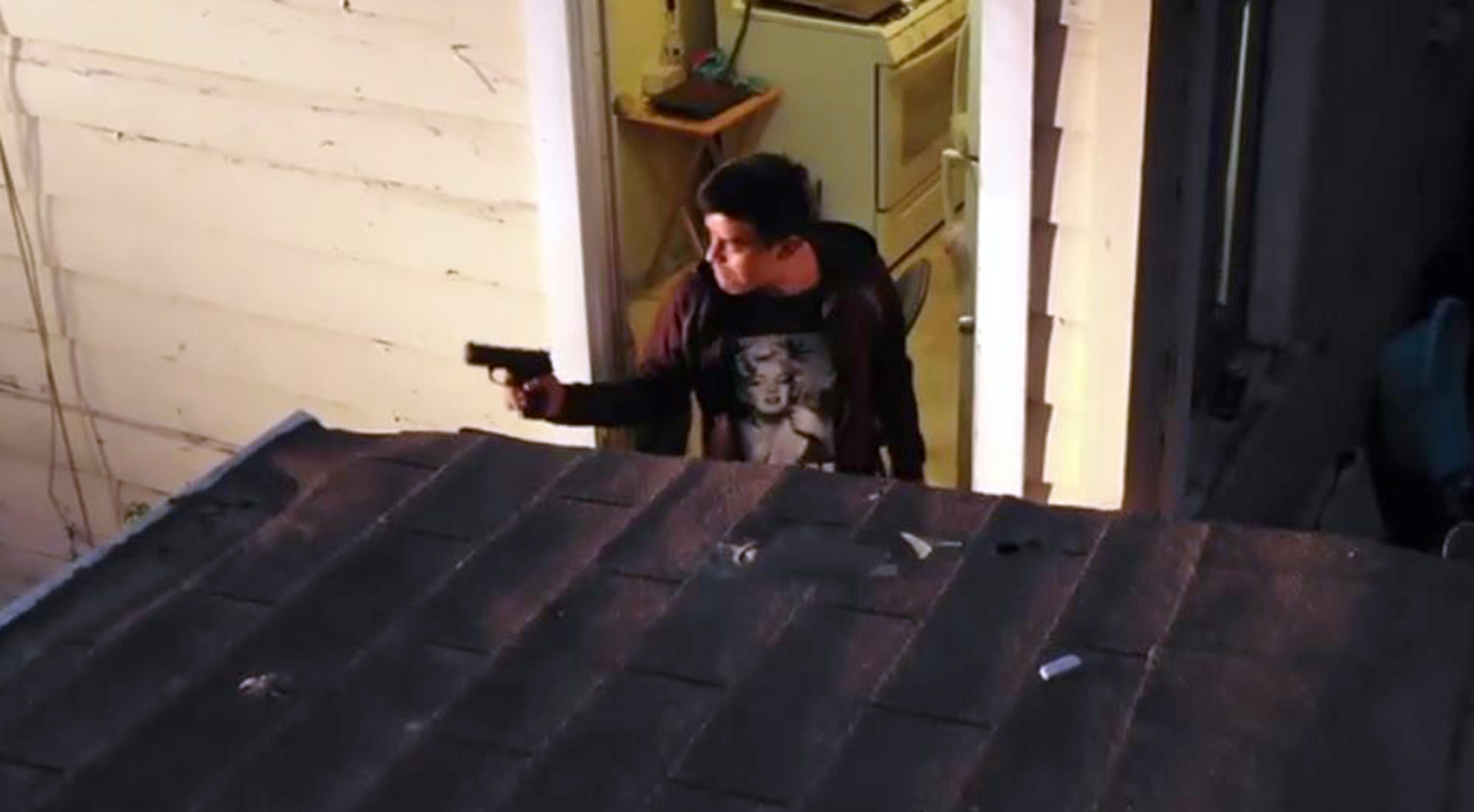 Drone video shows police fatally shoot California man who pointed BB gun at officer