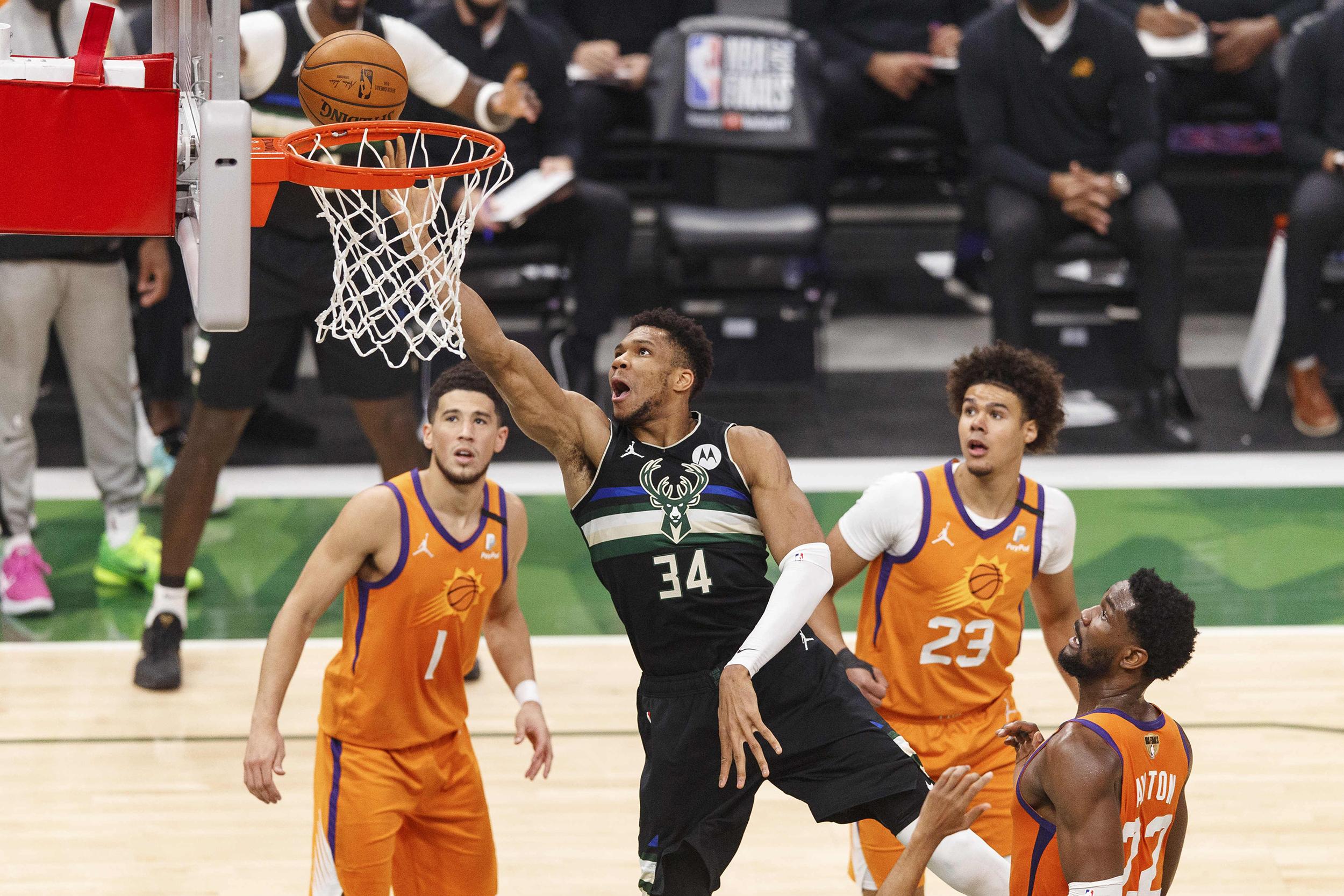 Milwaukee Bucks beat Phoenix Suns to win NBA championship after 50-year dry  spell