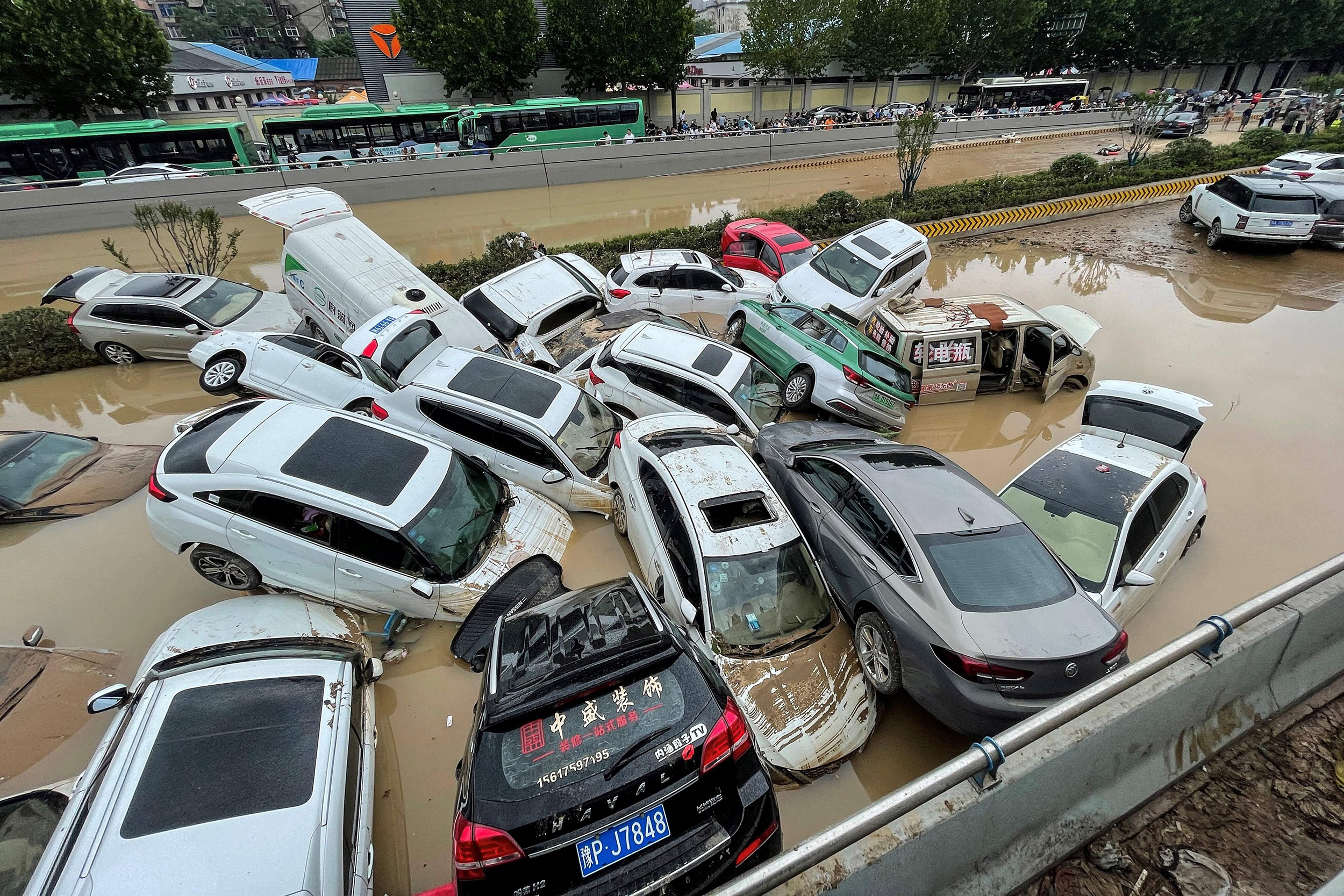 At least 25 dead in China as province deluged by heaviest rains in 1,000 years