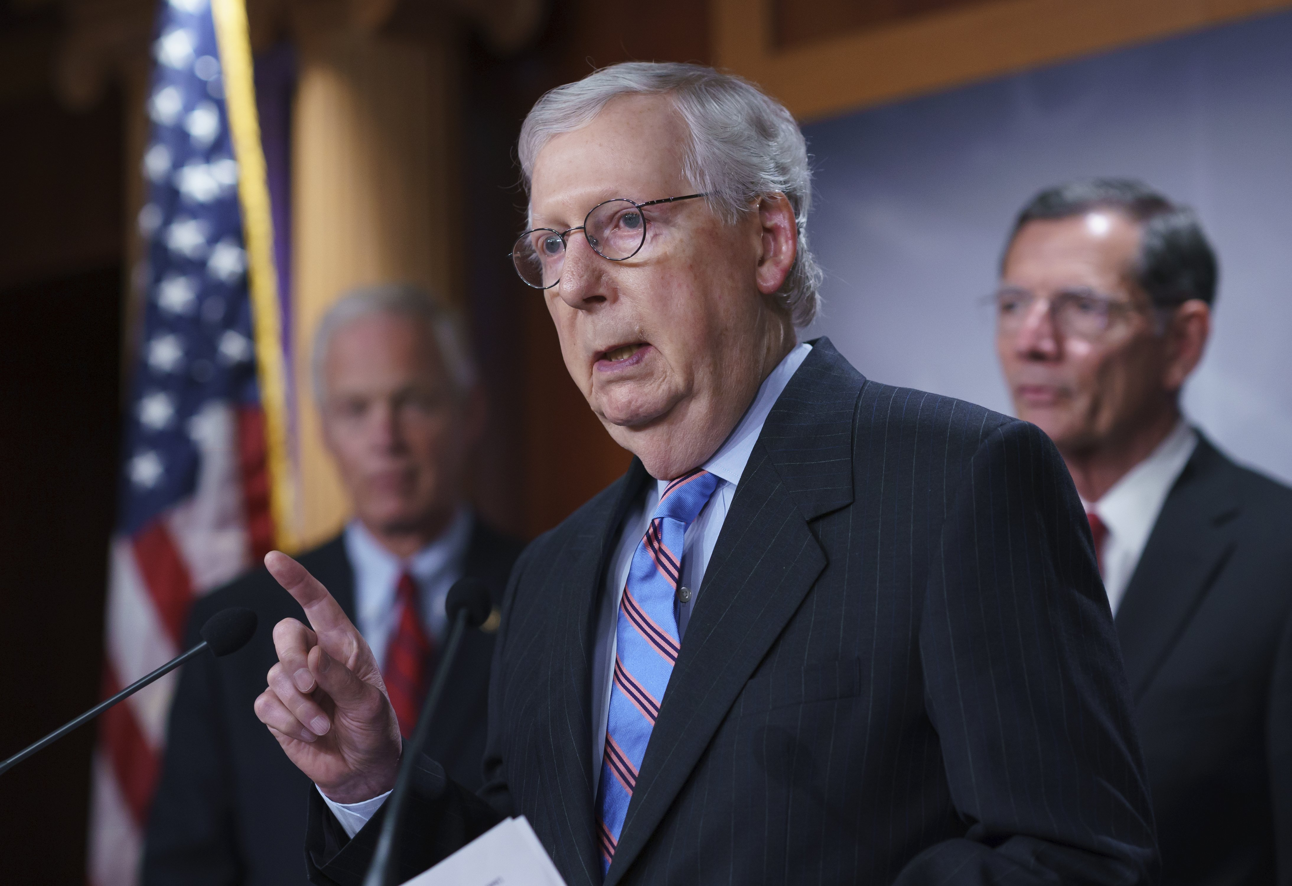 Senate Republicans rebuff consideration of bipartisan infrastructure bill