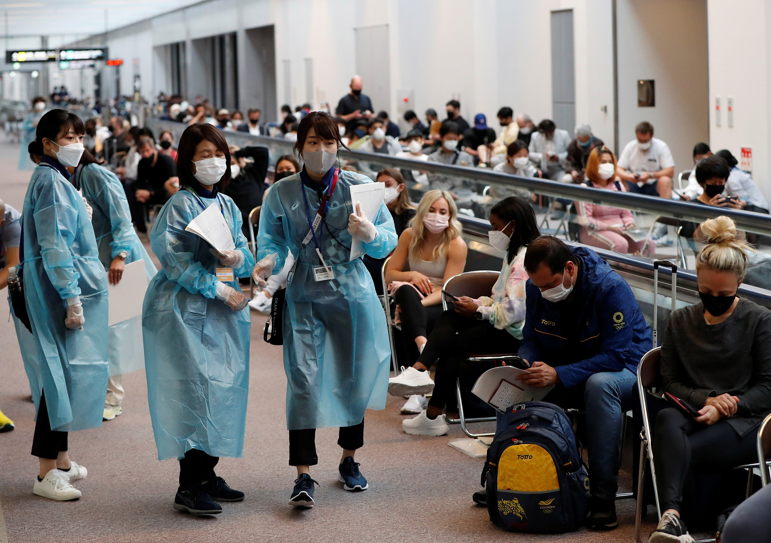 About 100 U.S. athletes in Tokyo unvaccinated as Olympics begin