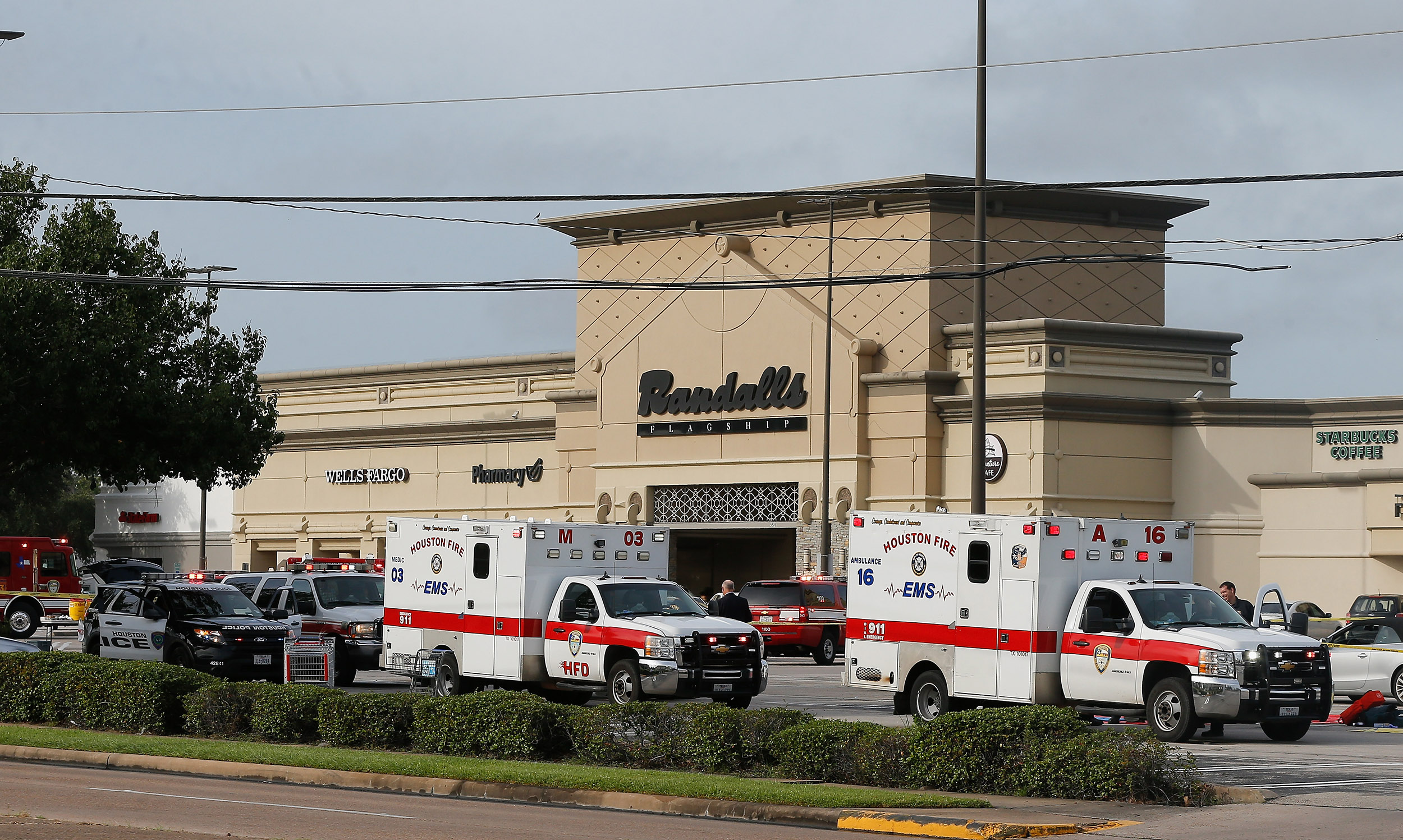 Houston ambulance stolen at gunpoint with a patient inside