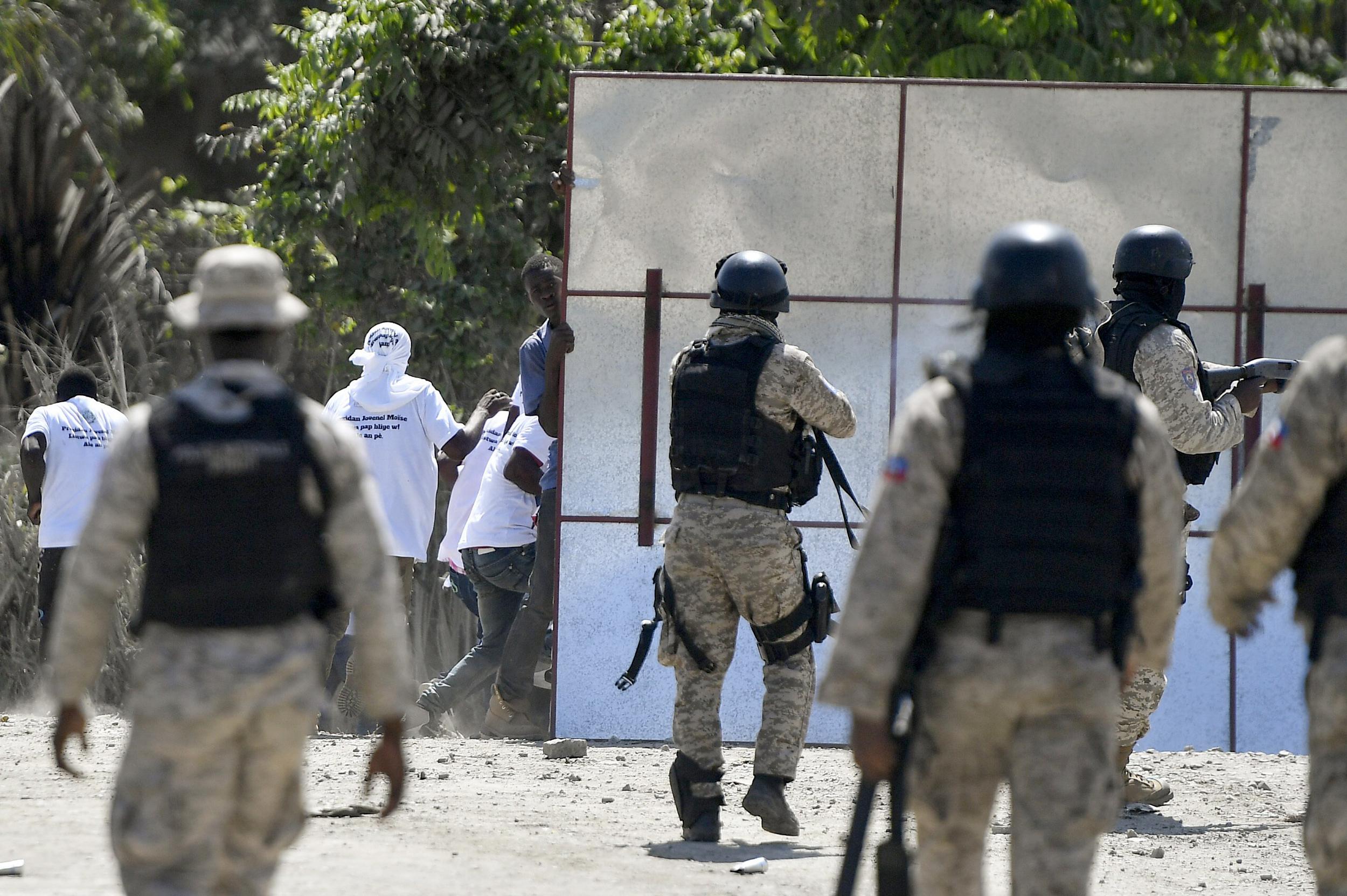 U.S. ambassador to U.N. hastily leaves Haiti after gunshots heard at president's funeral