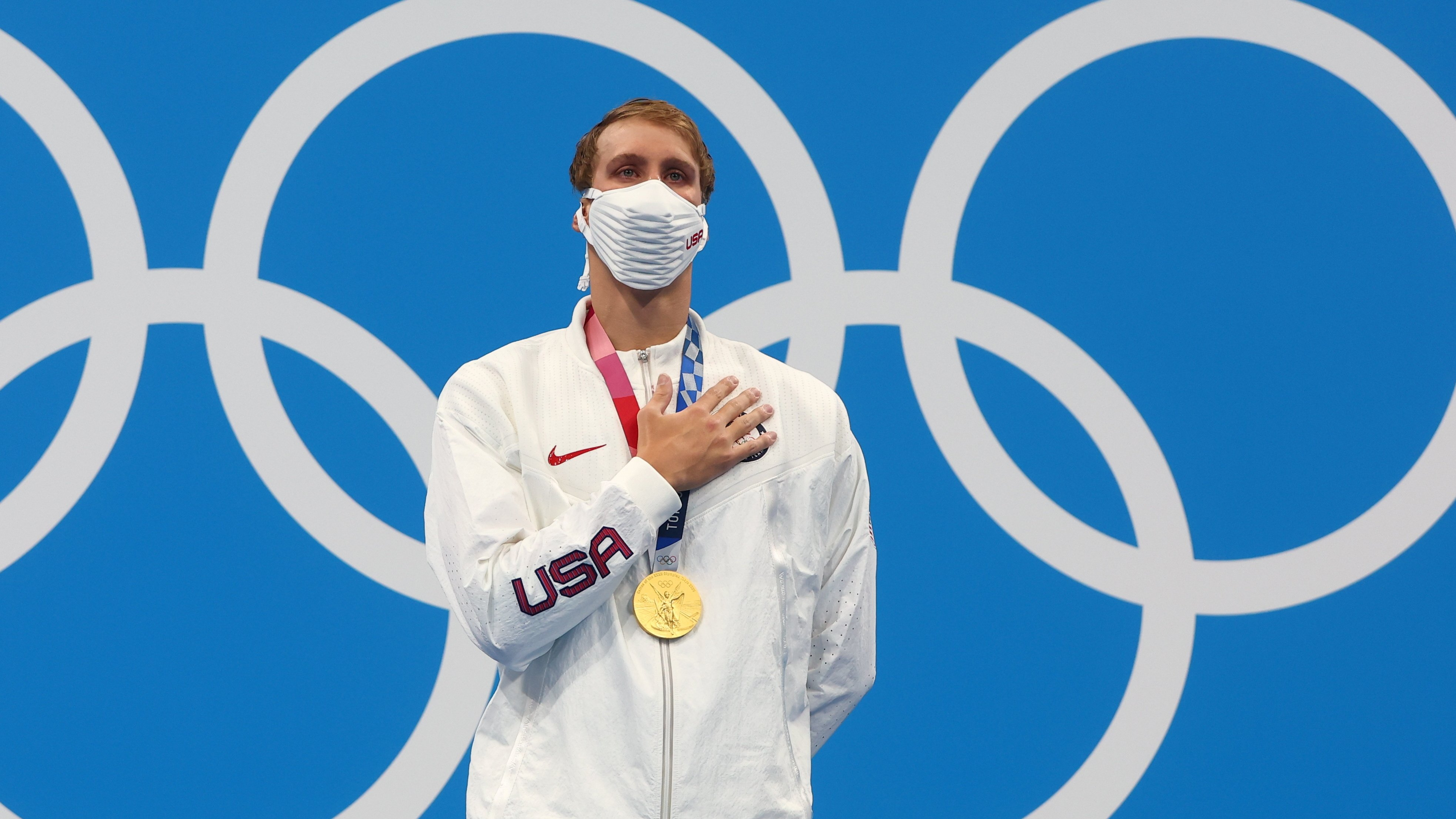 Swimmers get U.S. on medal board at Tokyo Olympics