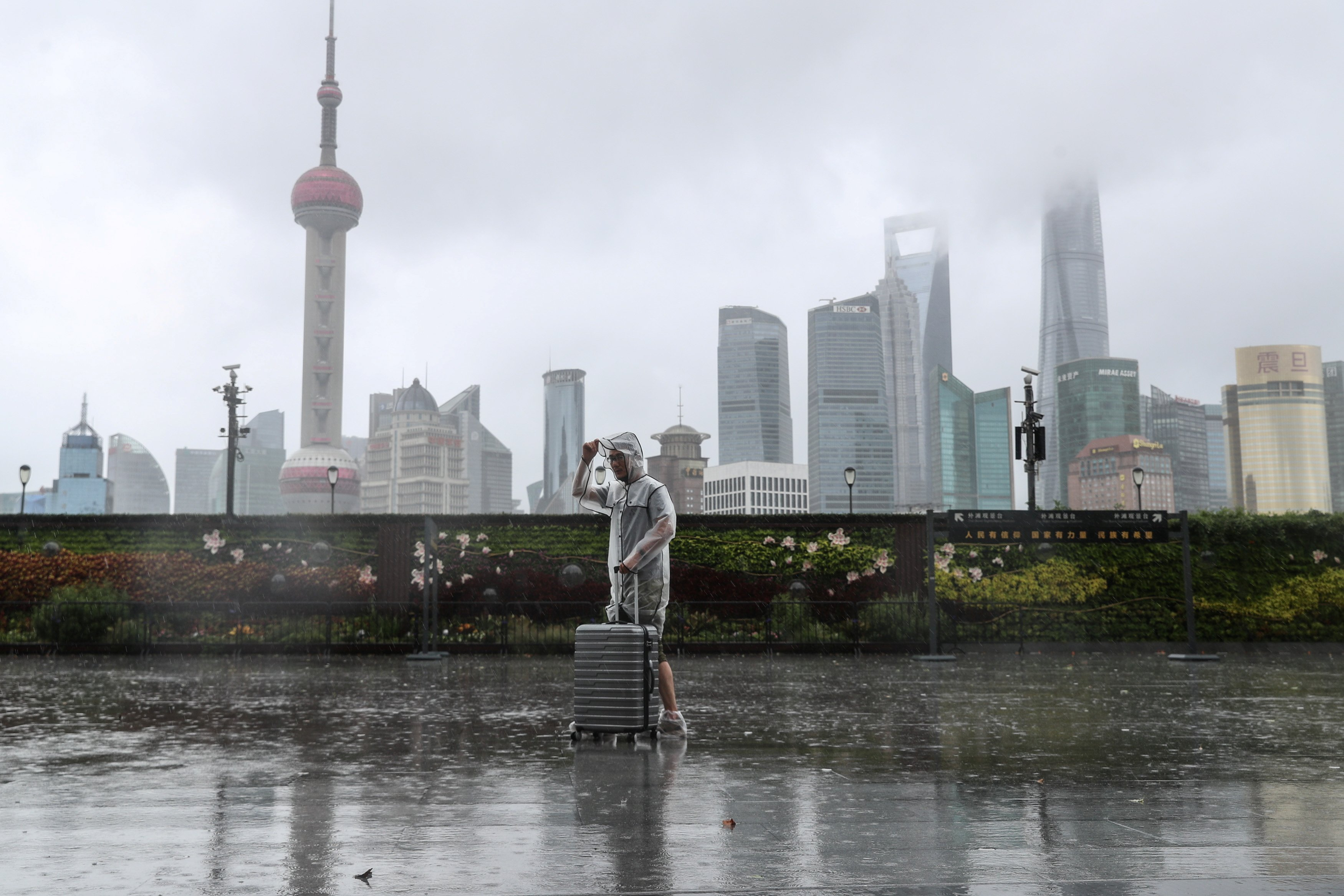 Tens of thousands evacuated as typhoon In-fa makes landfall in eastern China