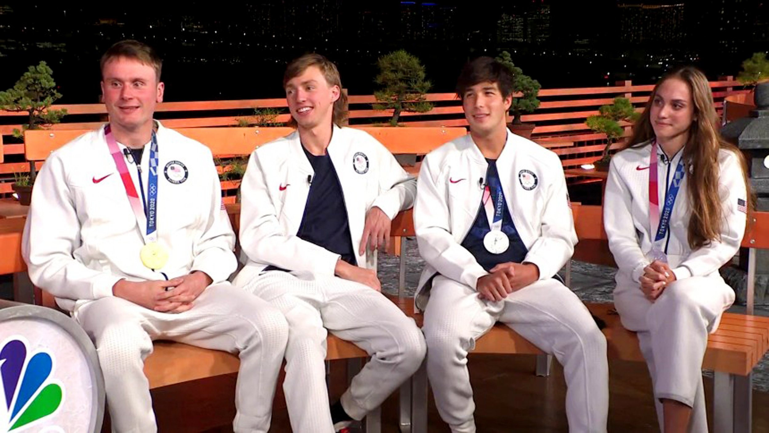 Meet the new generation of Team USA swimmers, who took home six medals on opening night