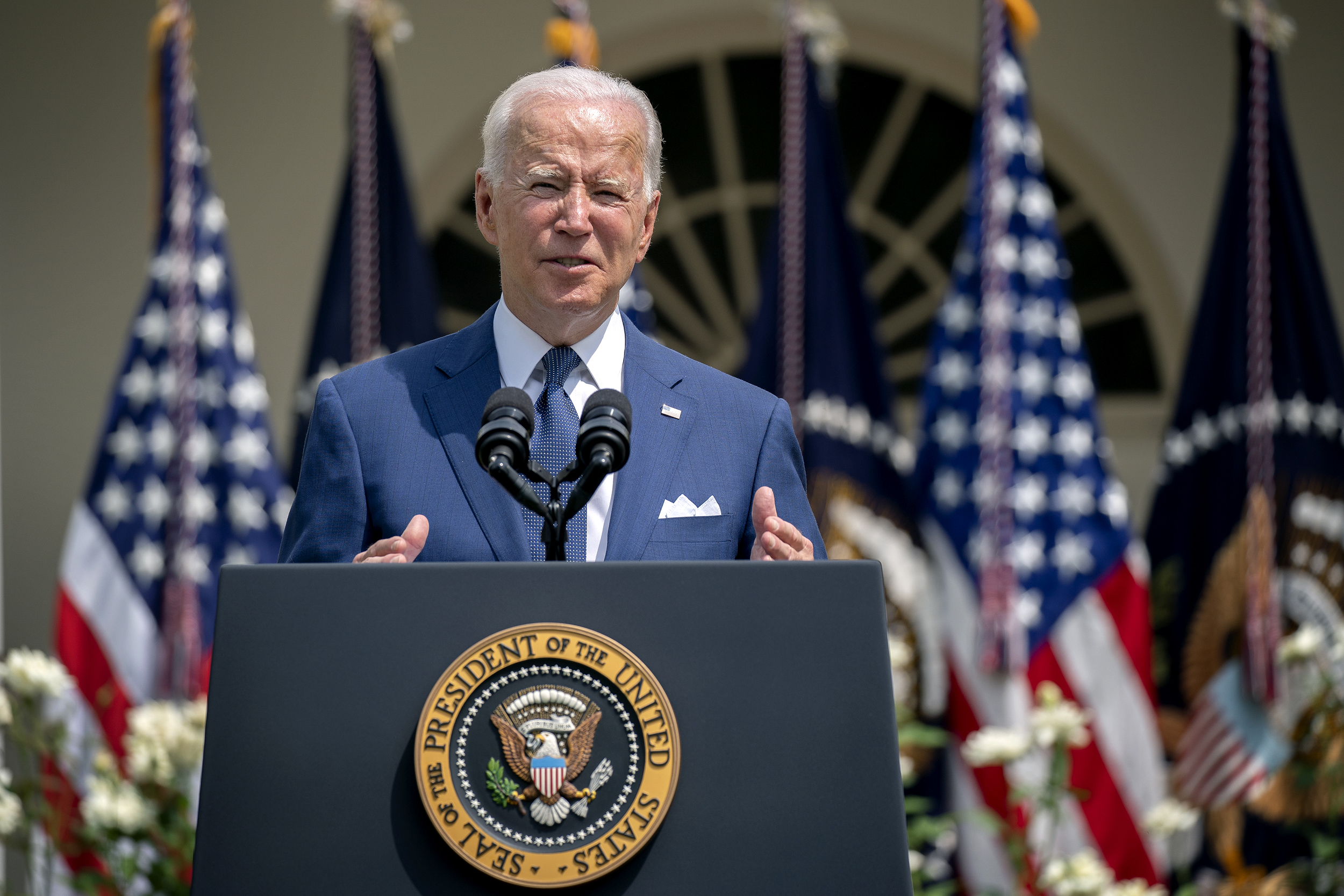 Biden says 'long Covid' could qualify as a disability under federal law