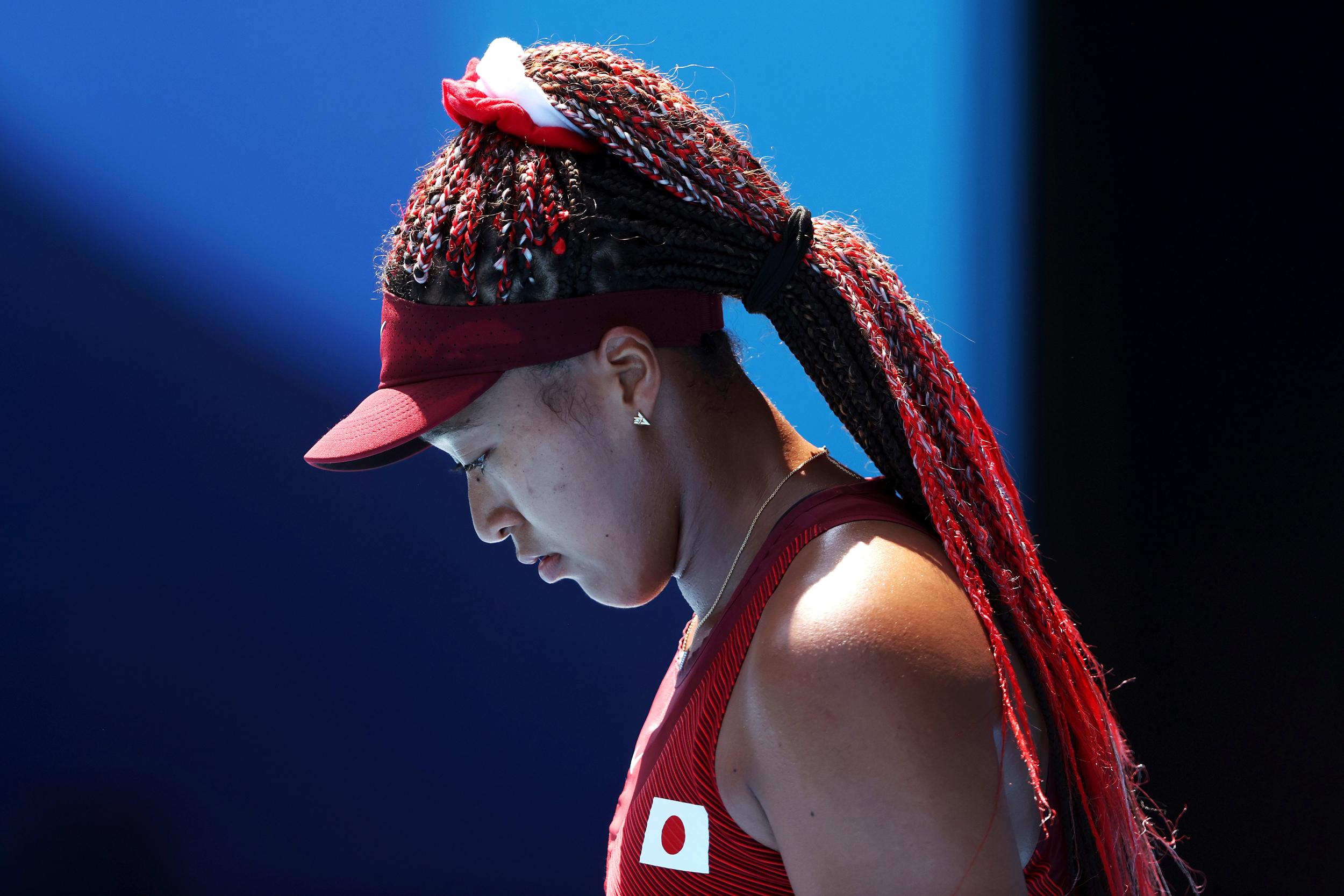 Naomi Osaka knocked out of Tokyo Olympics