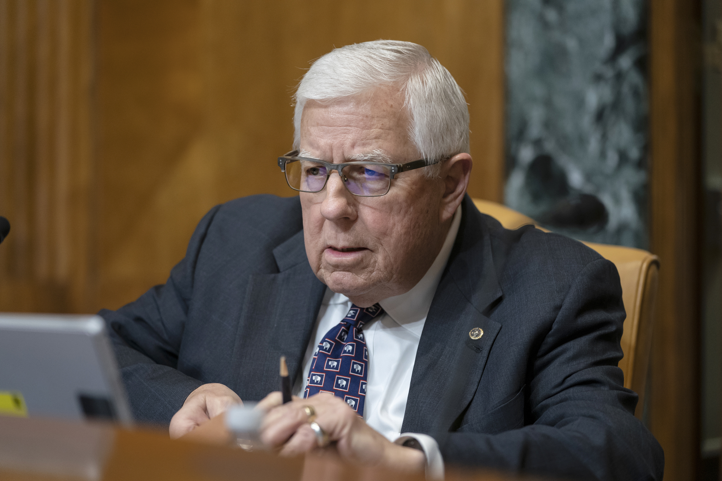 Ex-US Sen. Mike Enzi of Wyoming dies after bicycle accident