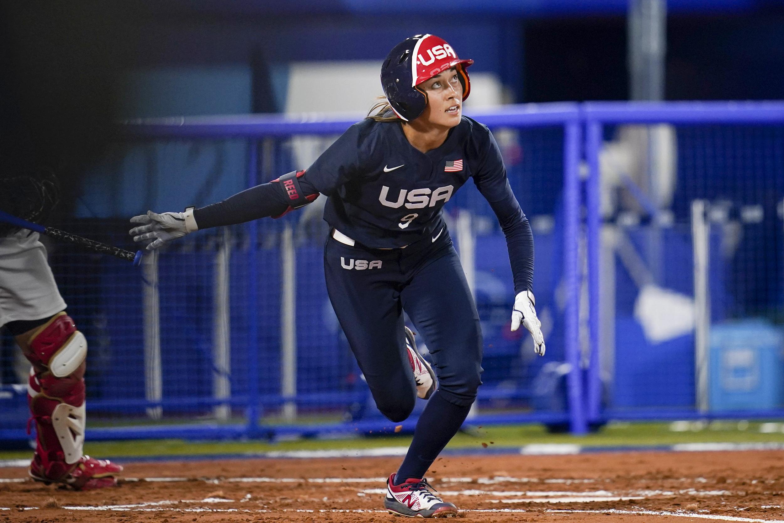 Japan wins softball gold, defeats U.S. in Olympics rematch