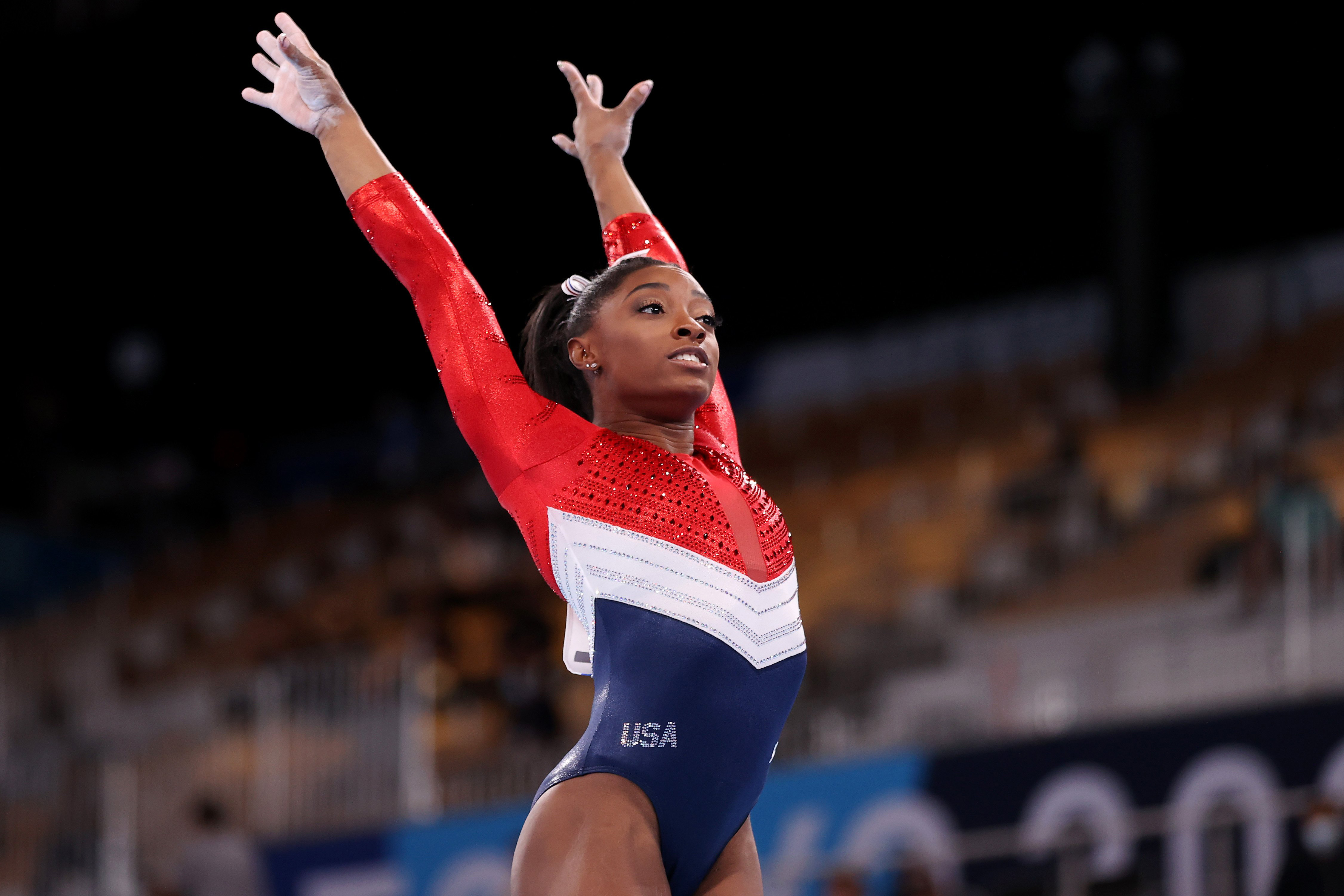 Simone Biles withdraws from all-around competition, won't defend Olympic title