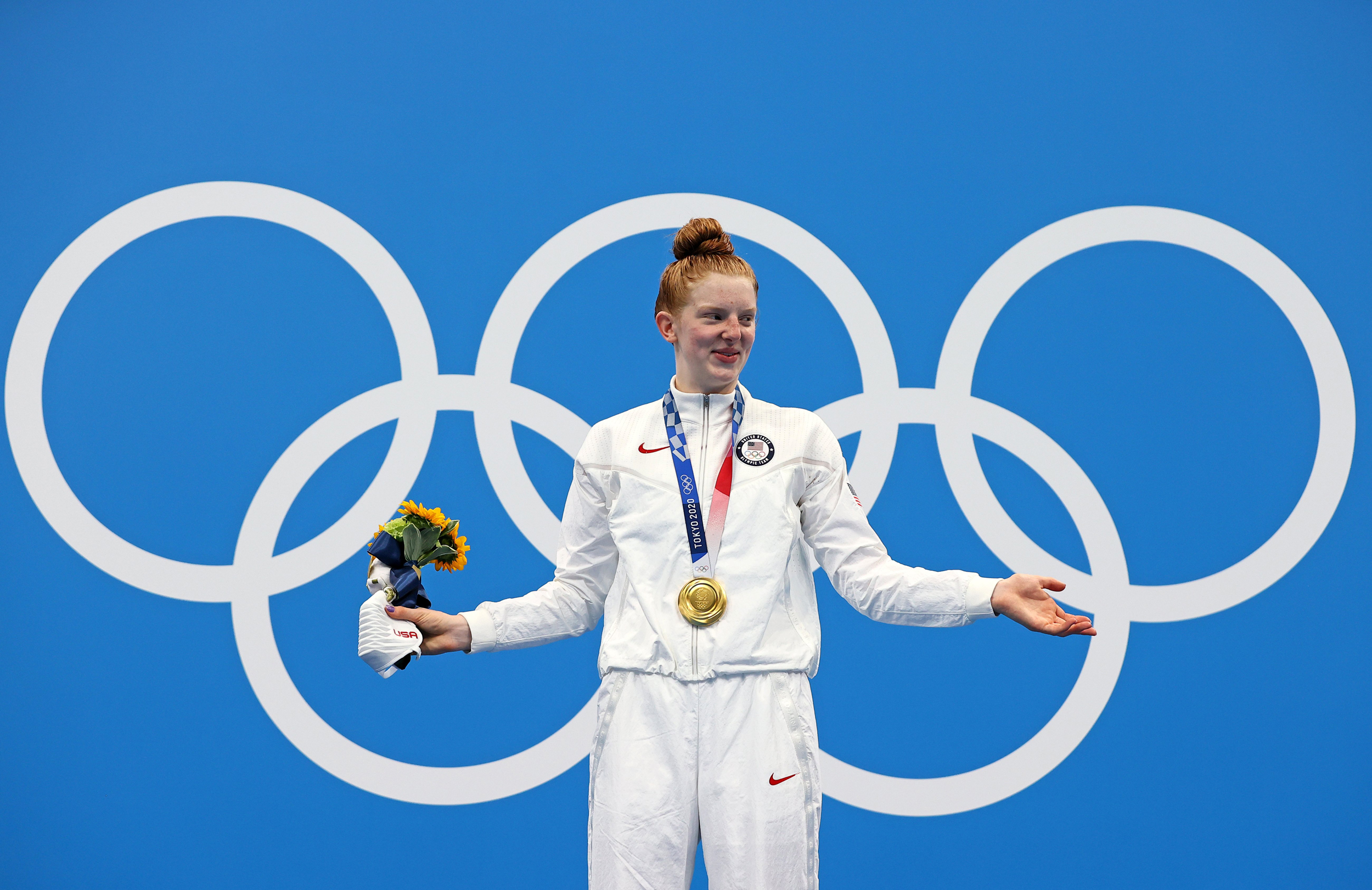 They joked she trained with the whales. Then, Alaska teen went to Tokyo and won Olympic gold.