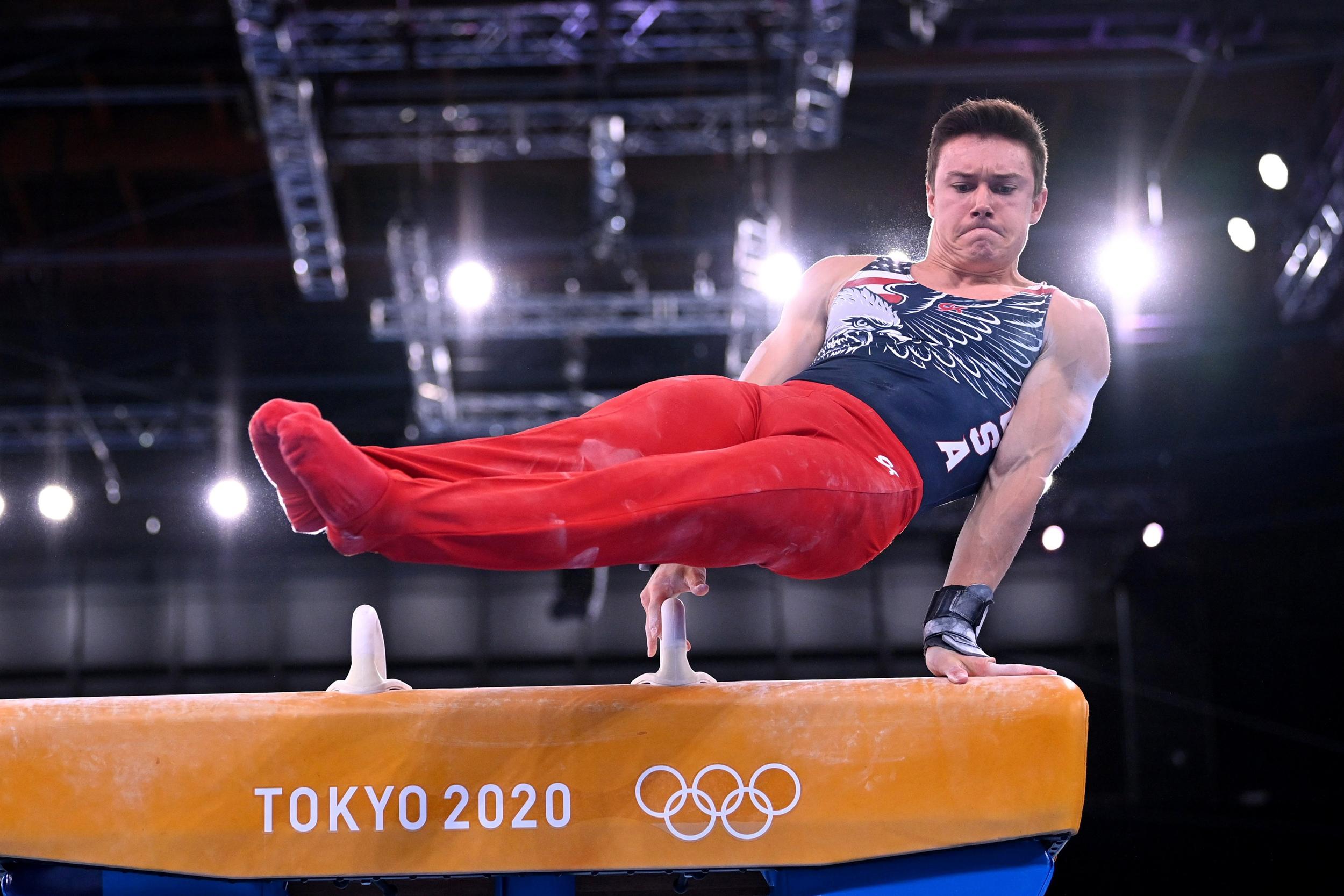 Watch live: Men's individual all-around gymnastics final
