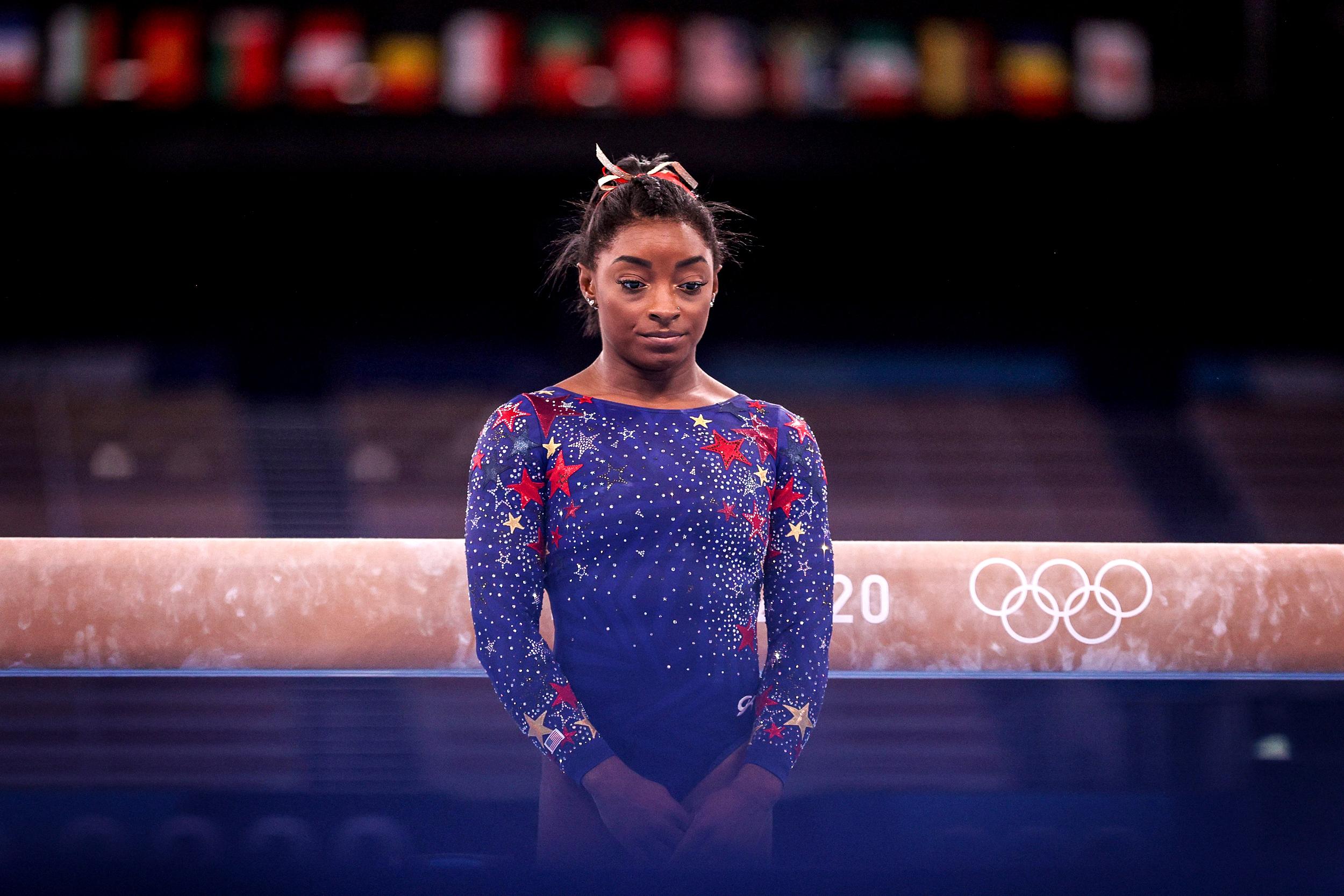 Simone Biles spotlights a challenge elite athletes face: Public failure