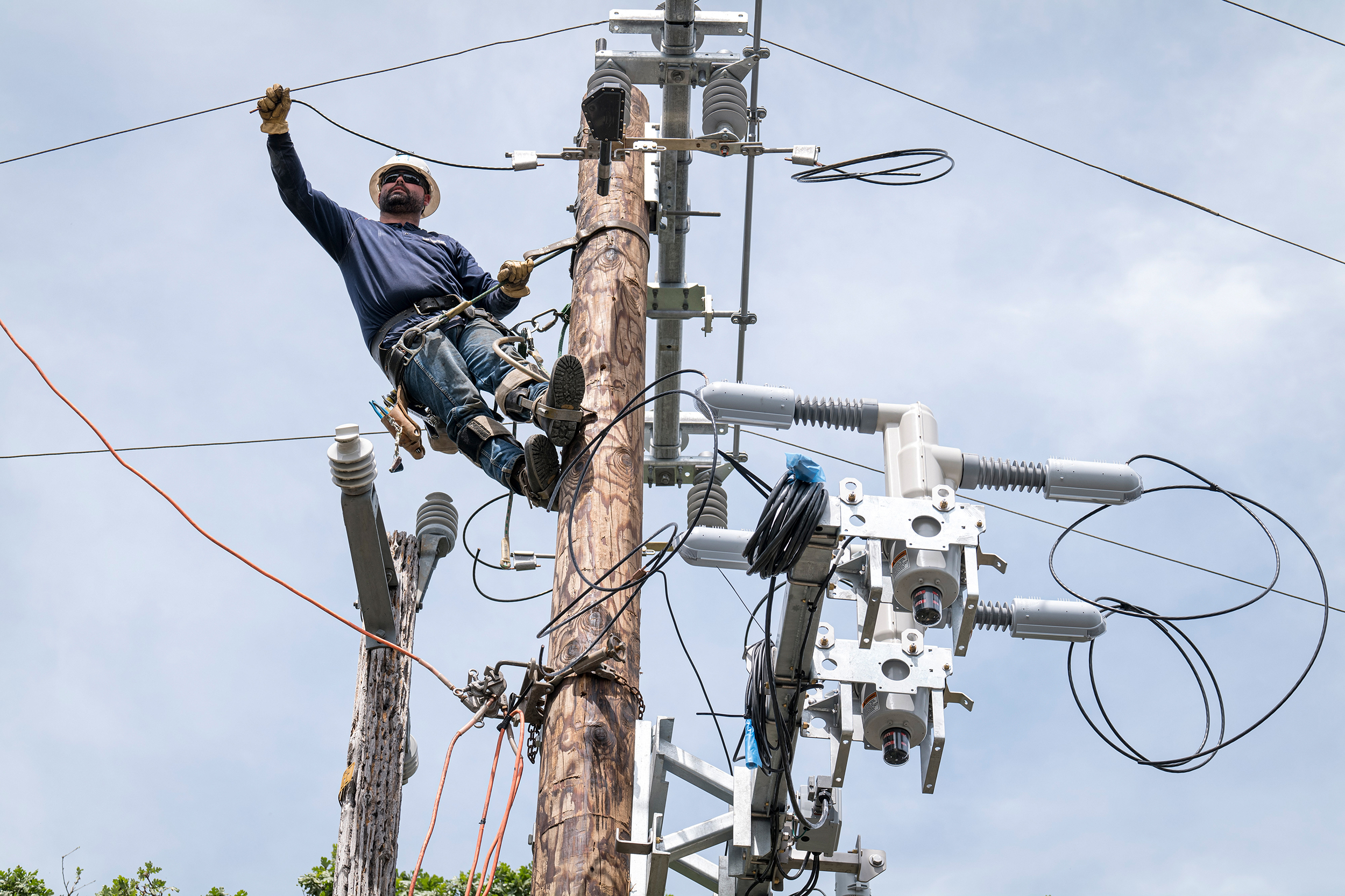 Clean energy, aging grid to get big boosts under infrastructure deal