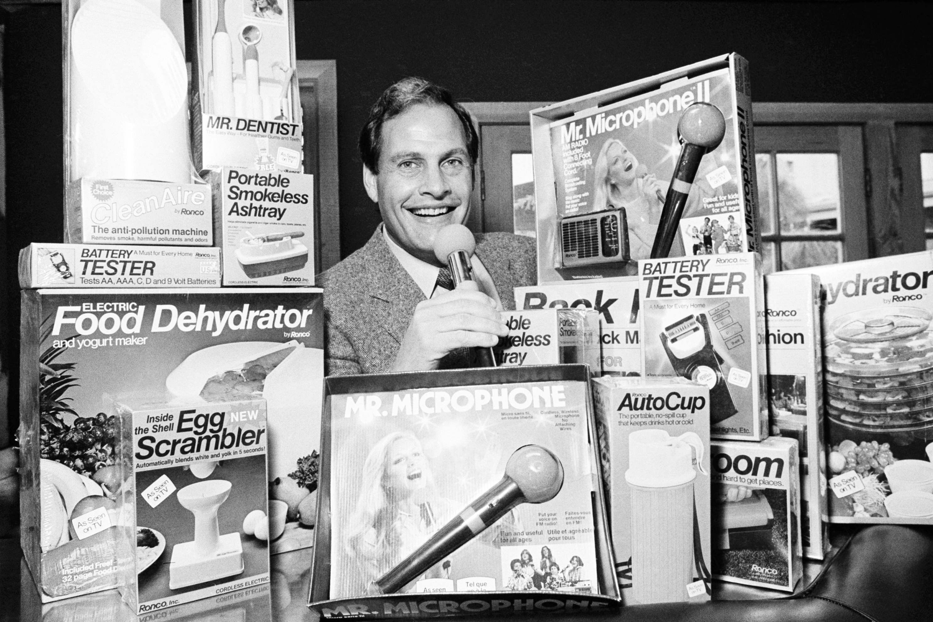 Infomercial king Ron Popeil dies at 86