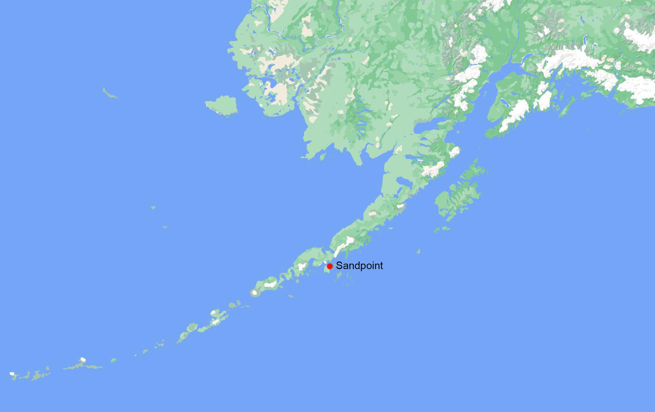 Magnitude 8.2 earthquake strikes off Alaska