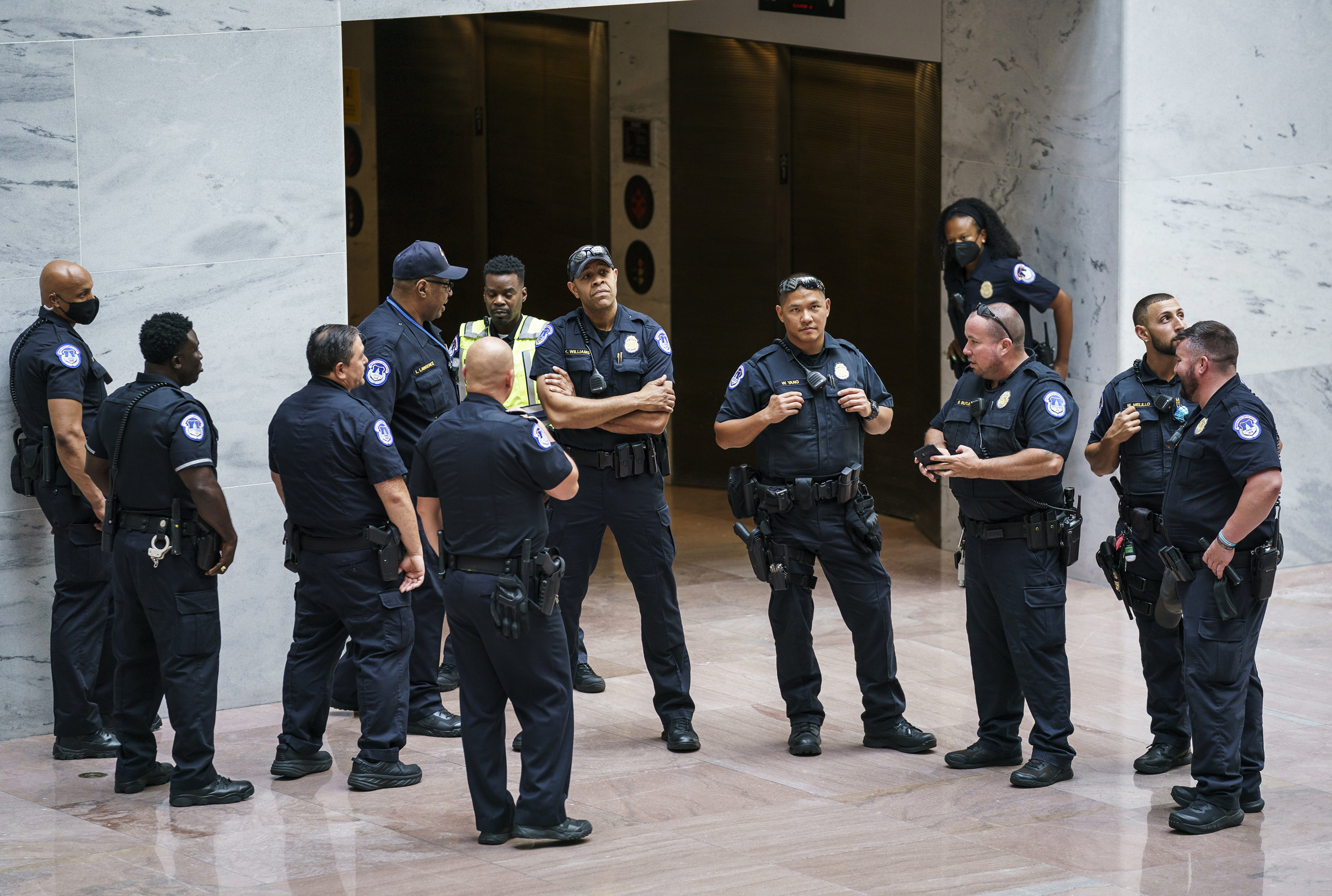 Senate passes $2.1 billion Capitol security bill