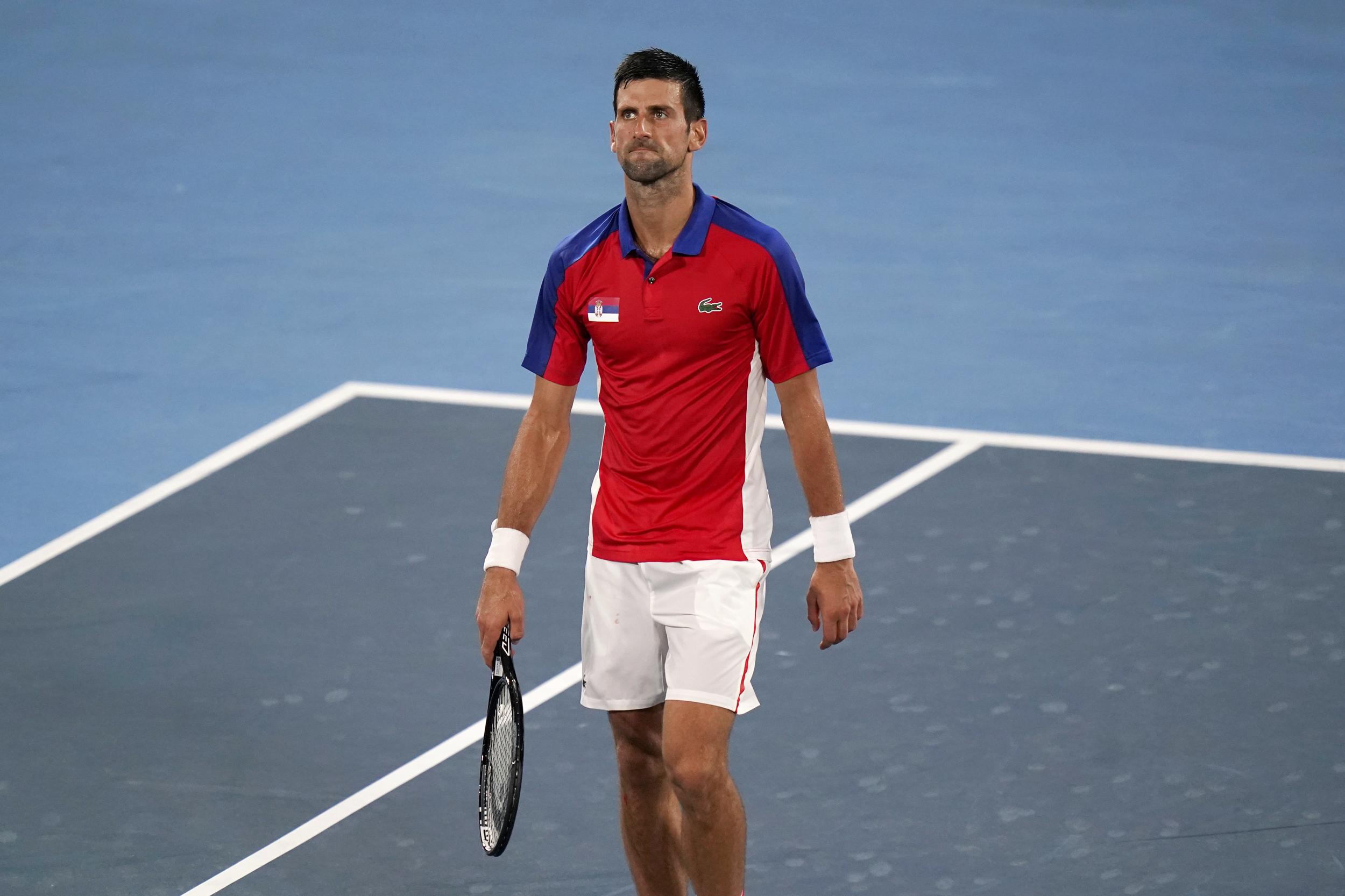 Novak Djokovic loses to Alexander Zverev at Olympics, ending Golden Slam bid