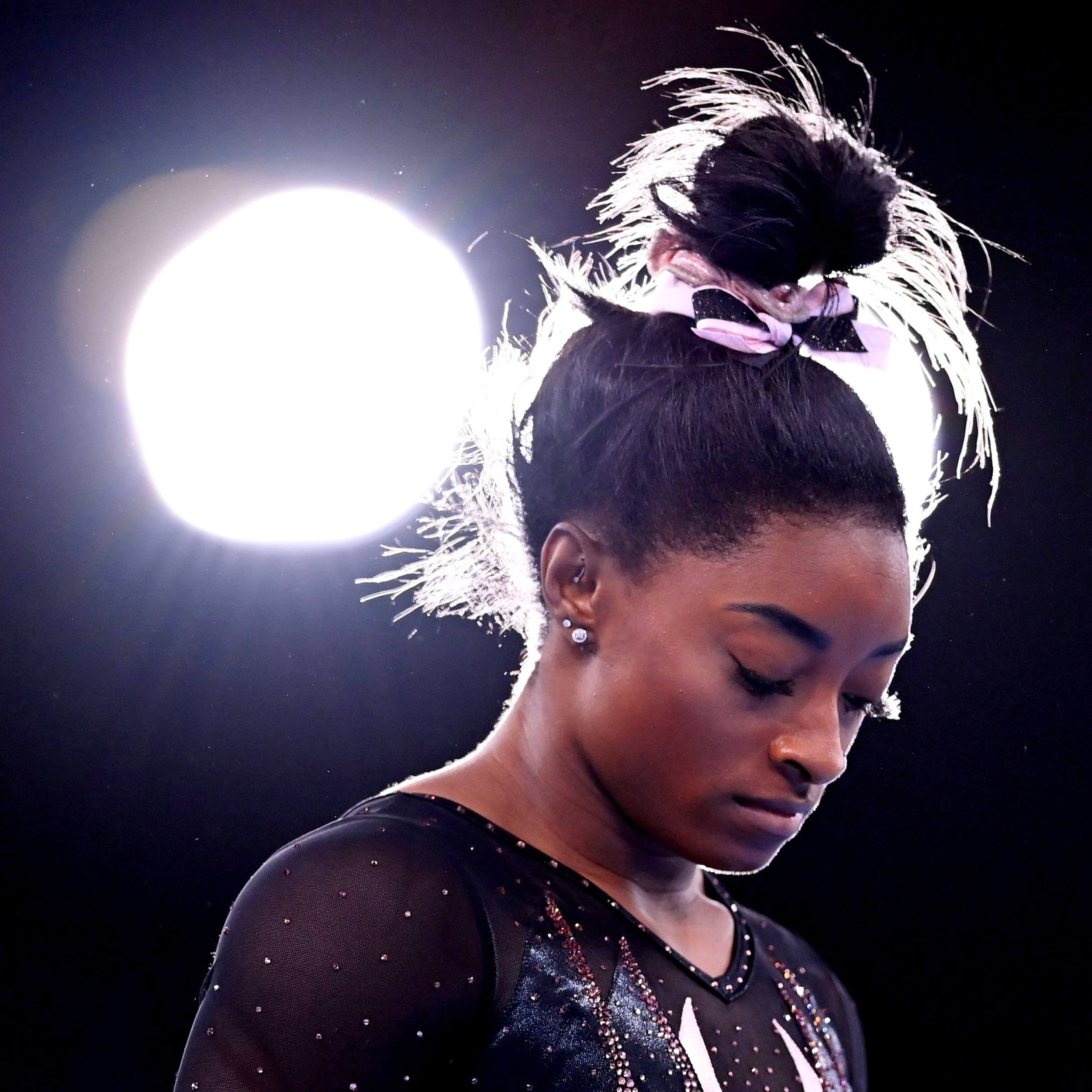 If I'd acted like Simone Biles, I would be happier and healthier