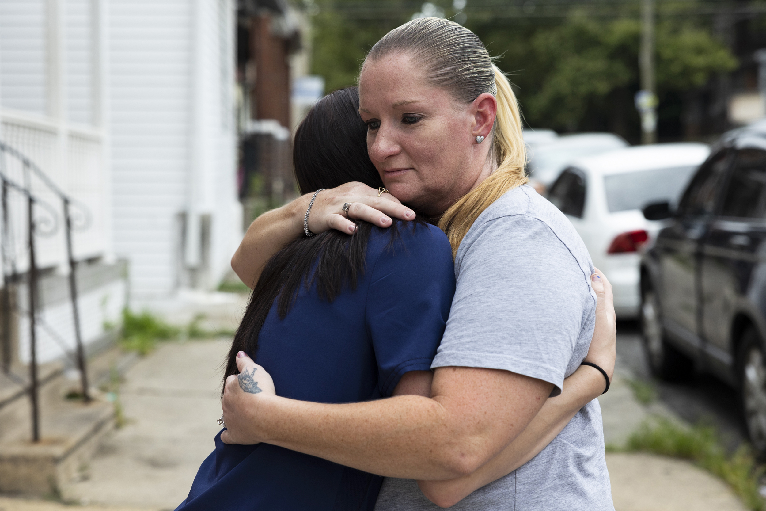 She wanted her kids back. A family court judge wouldn't let her talk.